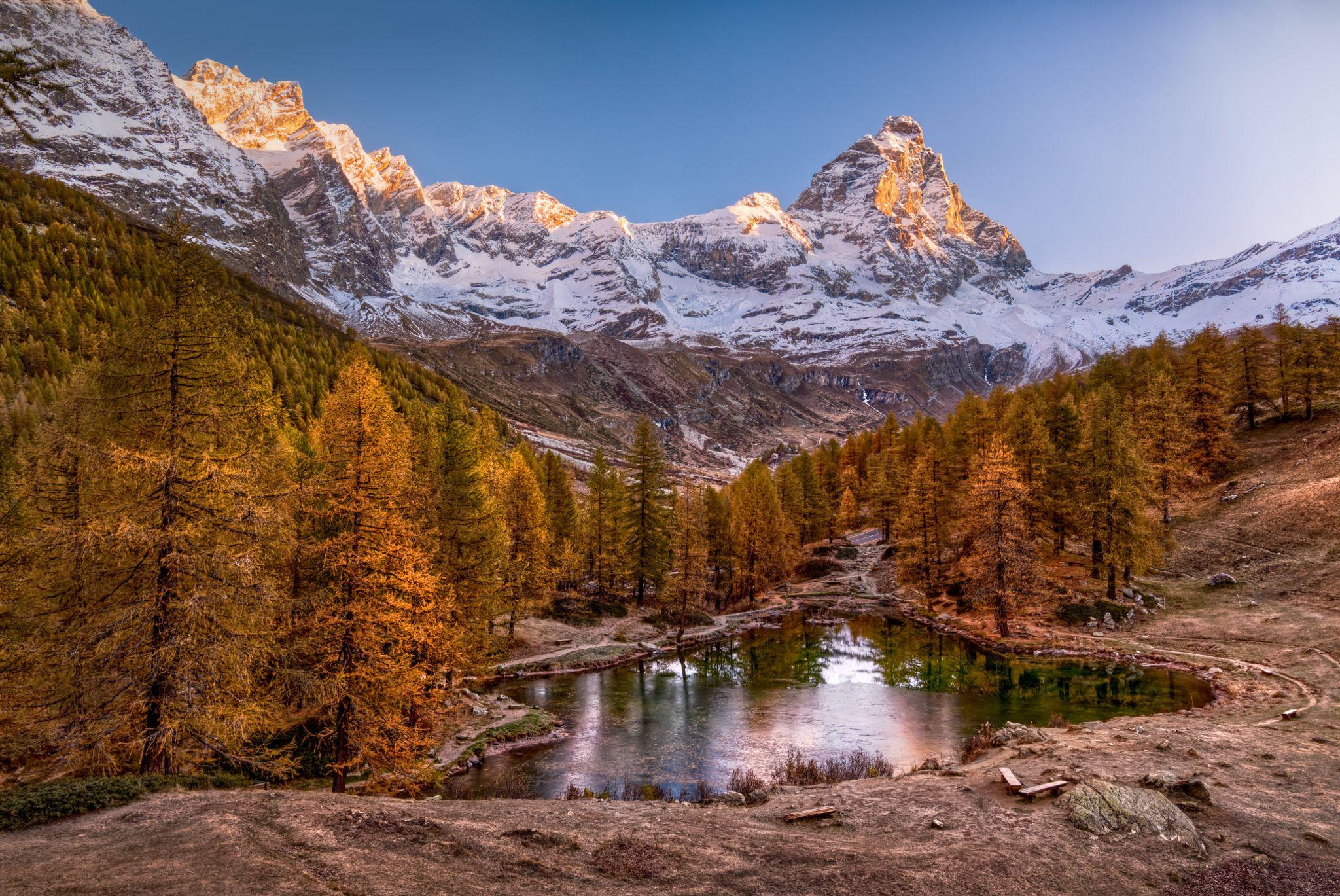 Lago Blu, Italy