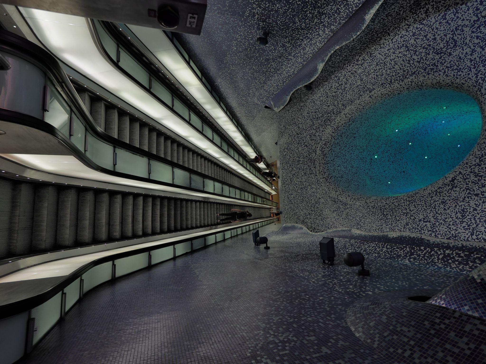 Metro Station Via Toledo, Italy