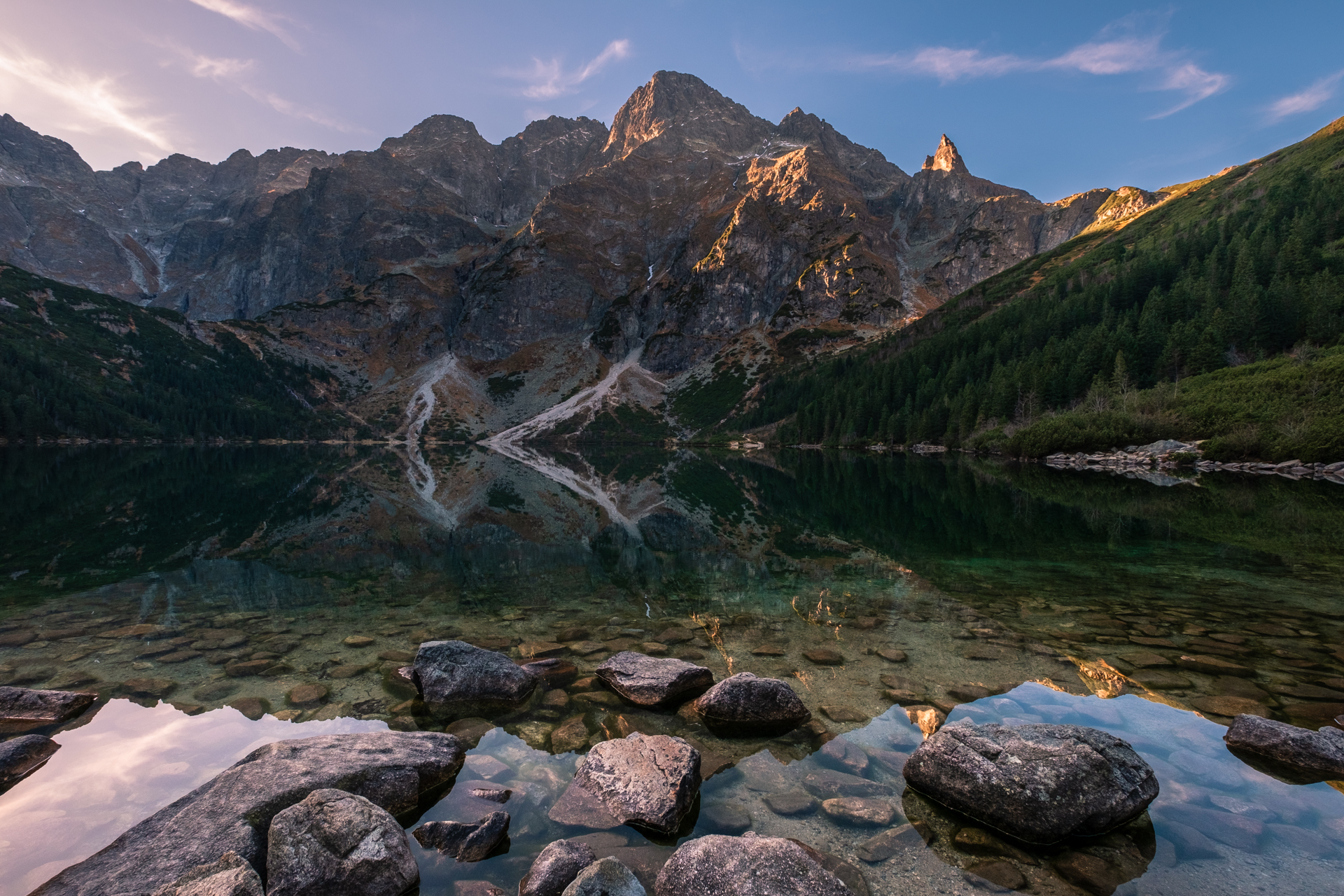 Morskie Oko Lake, Poland