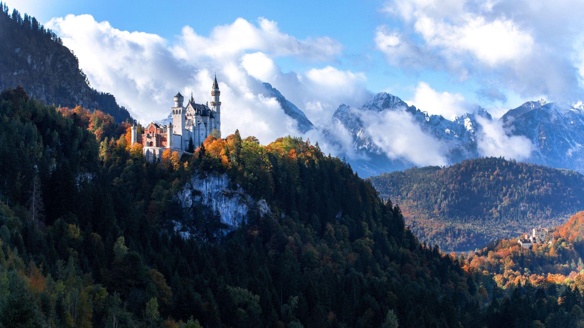 Neuschwanstein Castle North View, Germany