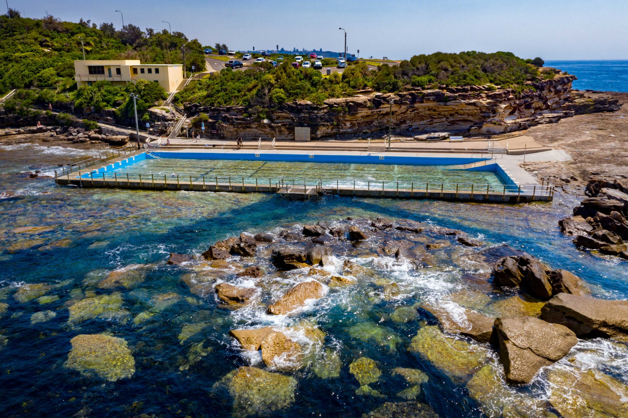 Ocean Pool Freshwater Beach, Northern Beaches Sydney, Australia