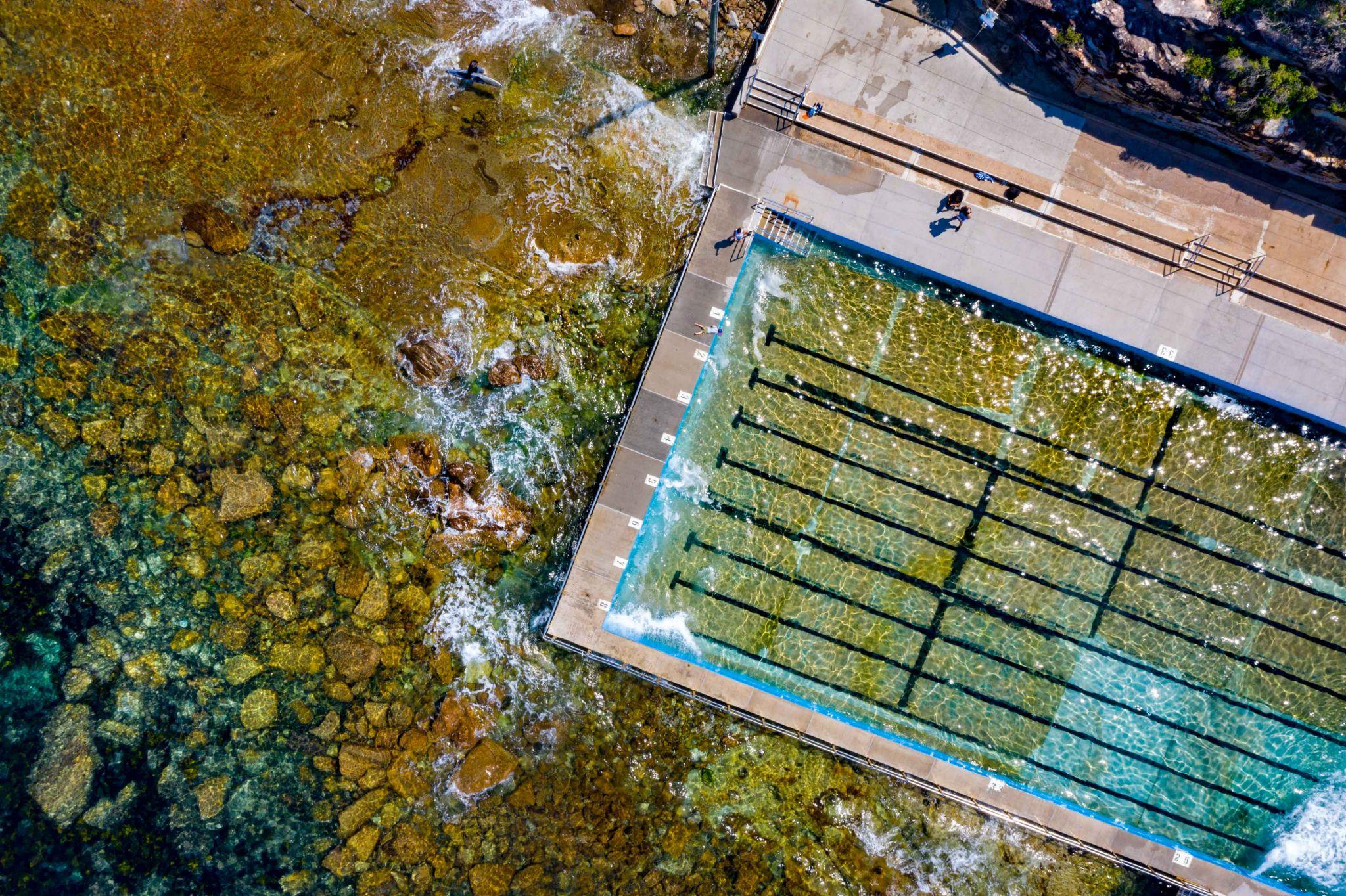 Ocean Pool Freshwater Northern Beaches Sydney NSW, Australia