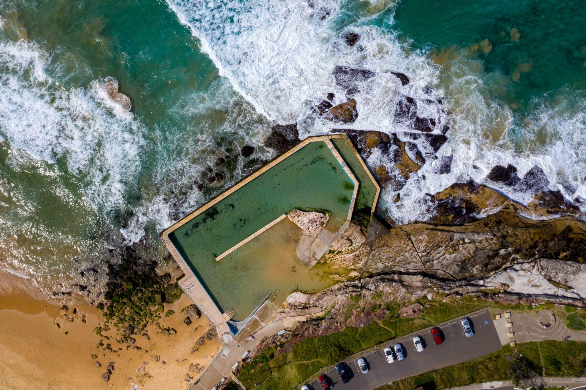 Ocean Pool South Curl Curl New South Wales, Australia
