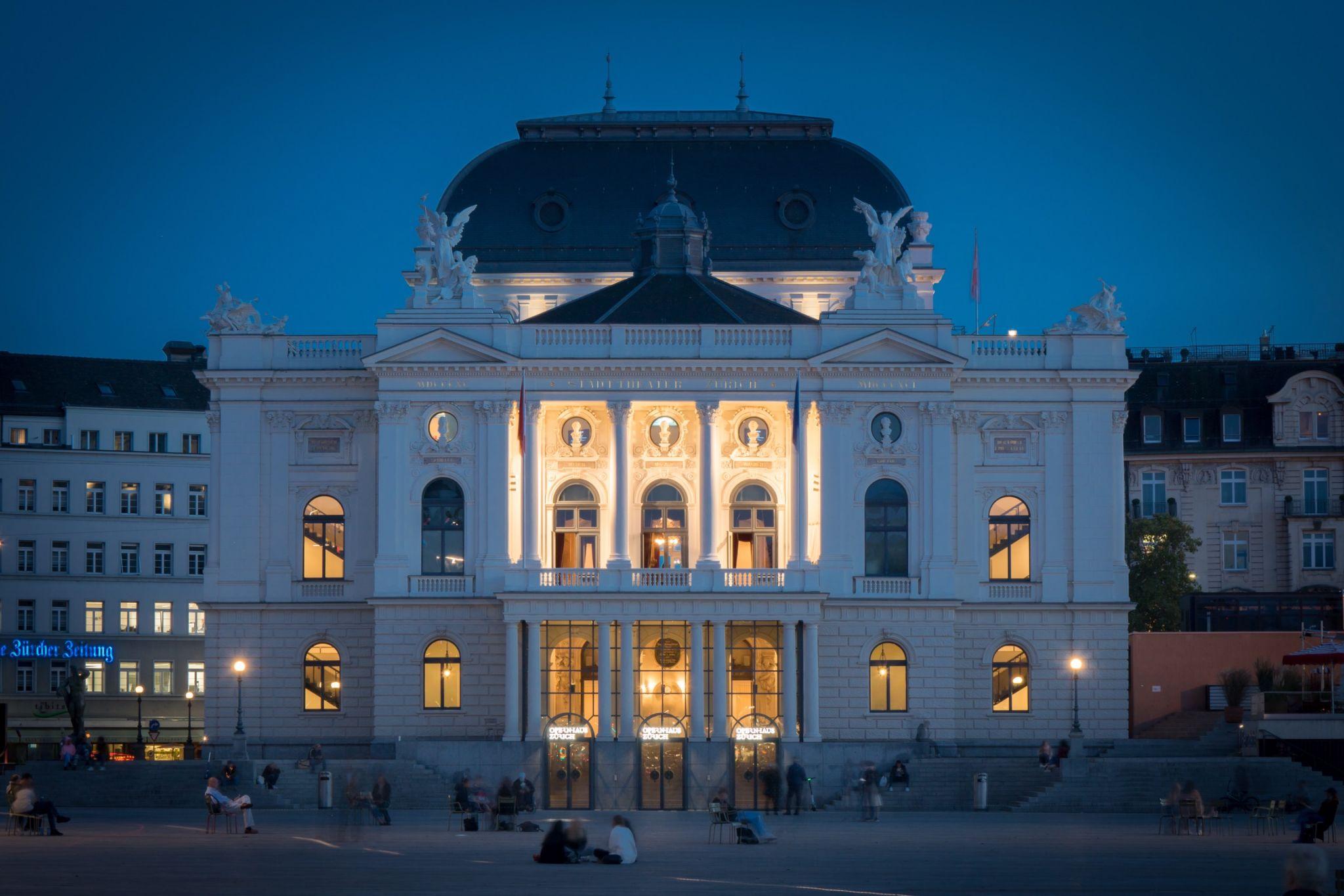 Opera from Sechseläutenplatz, Switzerland