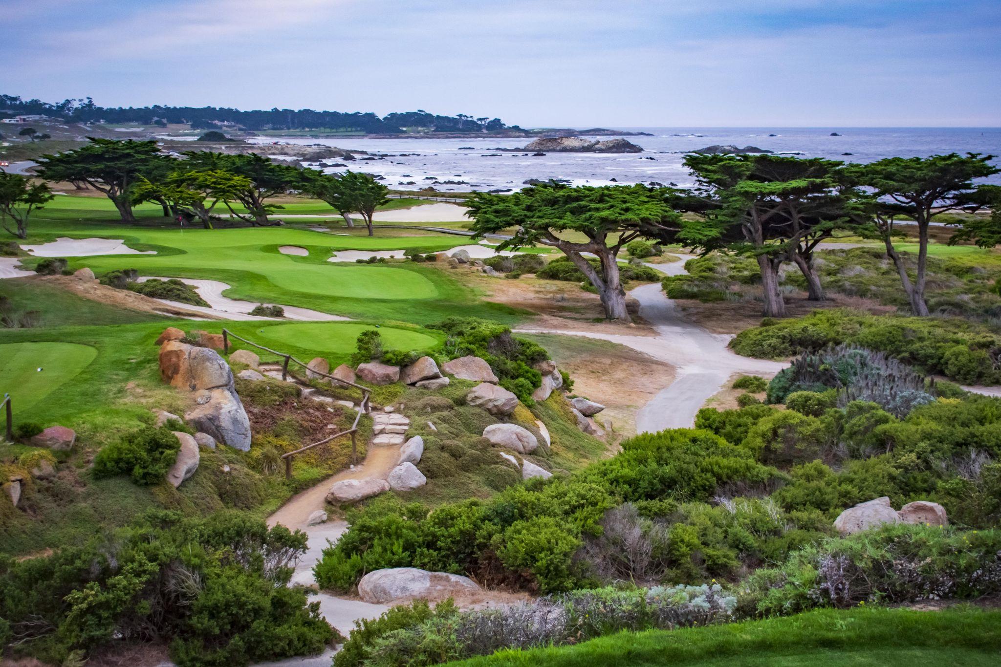 Pebble Beach Golf, USA