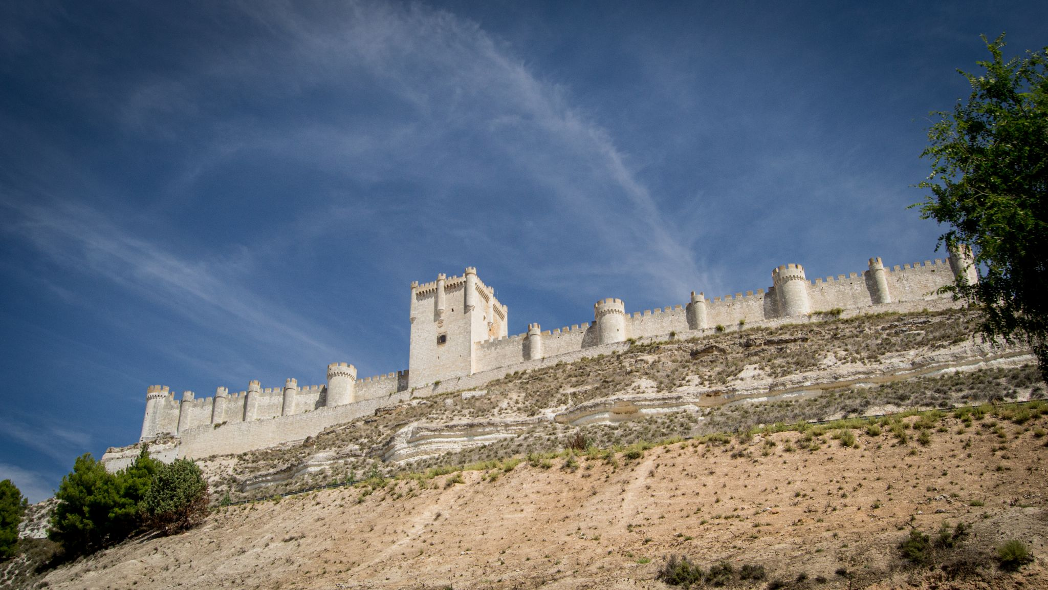 Peñafiel Castle, Spain