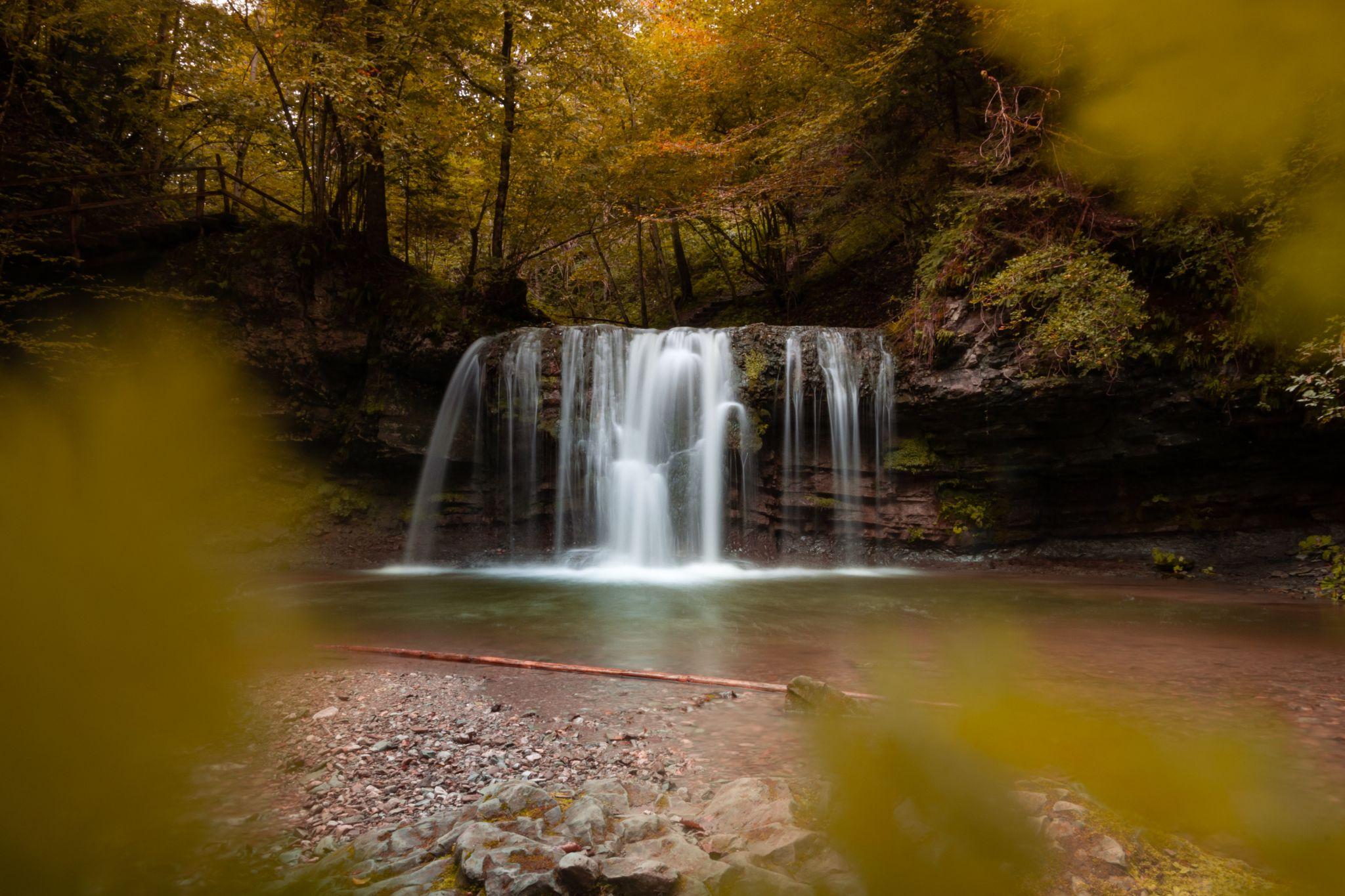 Peračica waterfall, Slovenia