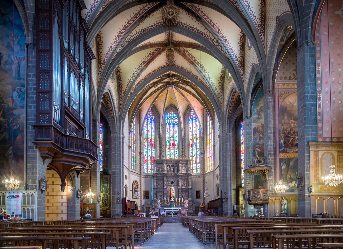 Perpignan Cathedral, France