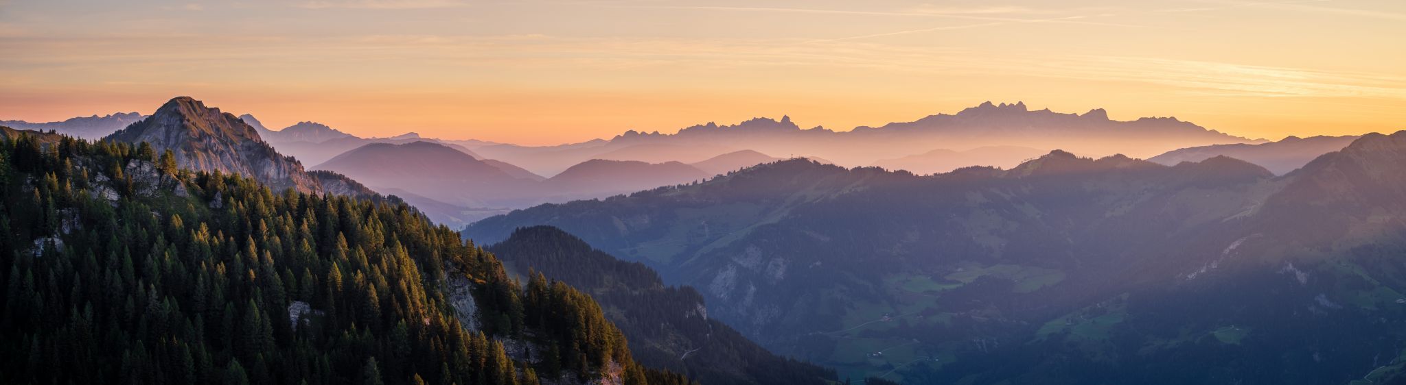 Sunrise @ Liechtensteinkopf, Austria