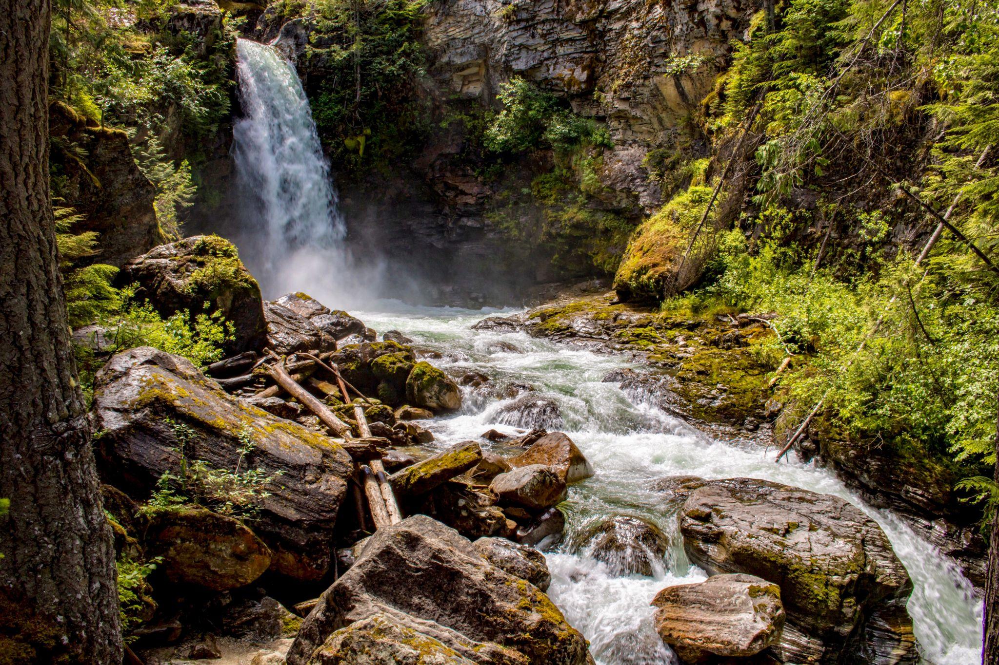 Sutherland Falls, Canada