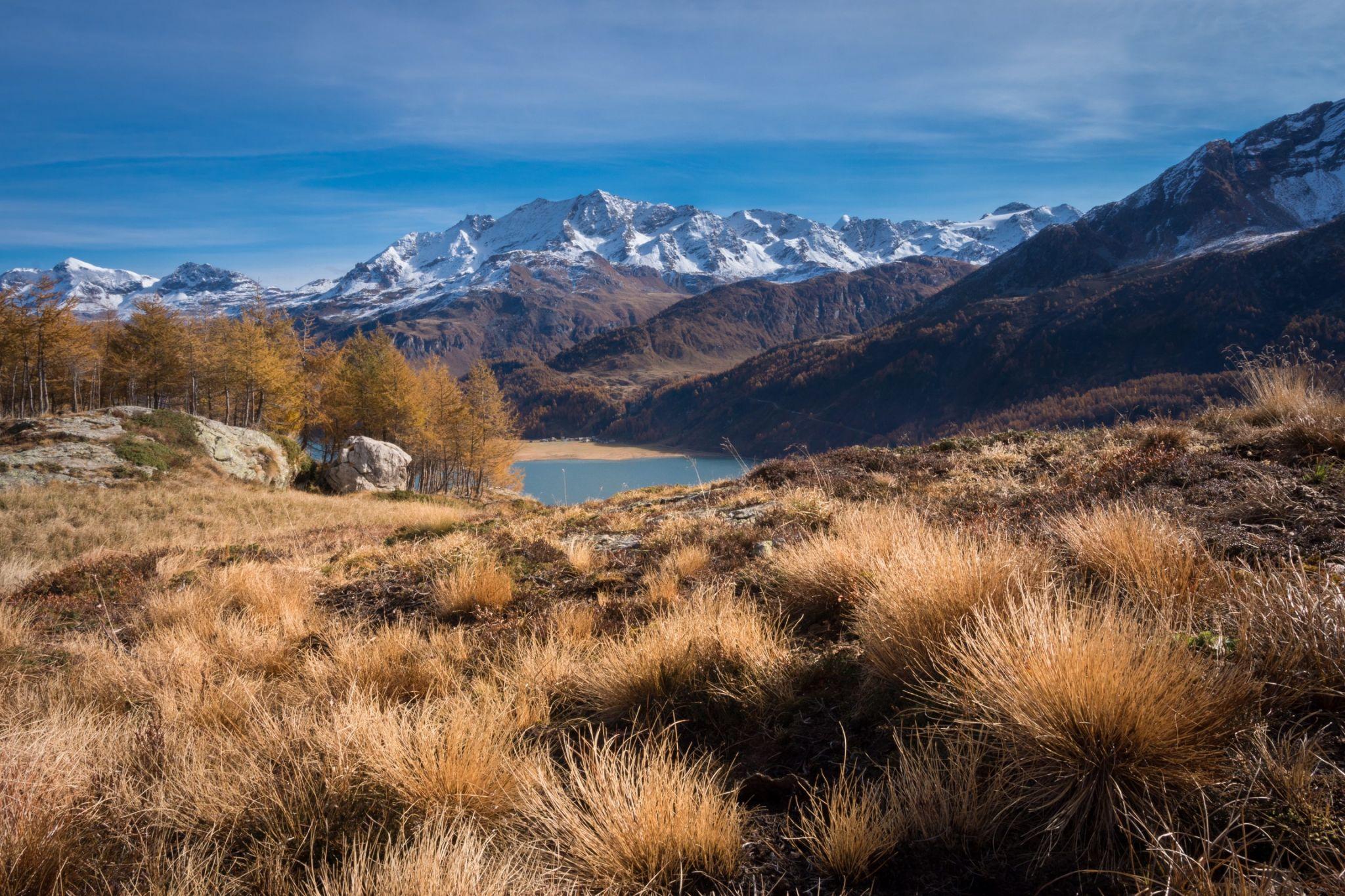 Via Engiadina near Blaunca, Switzerland