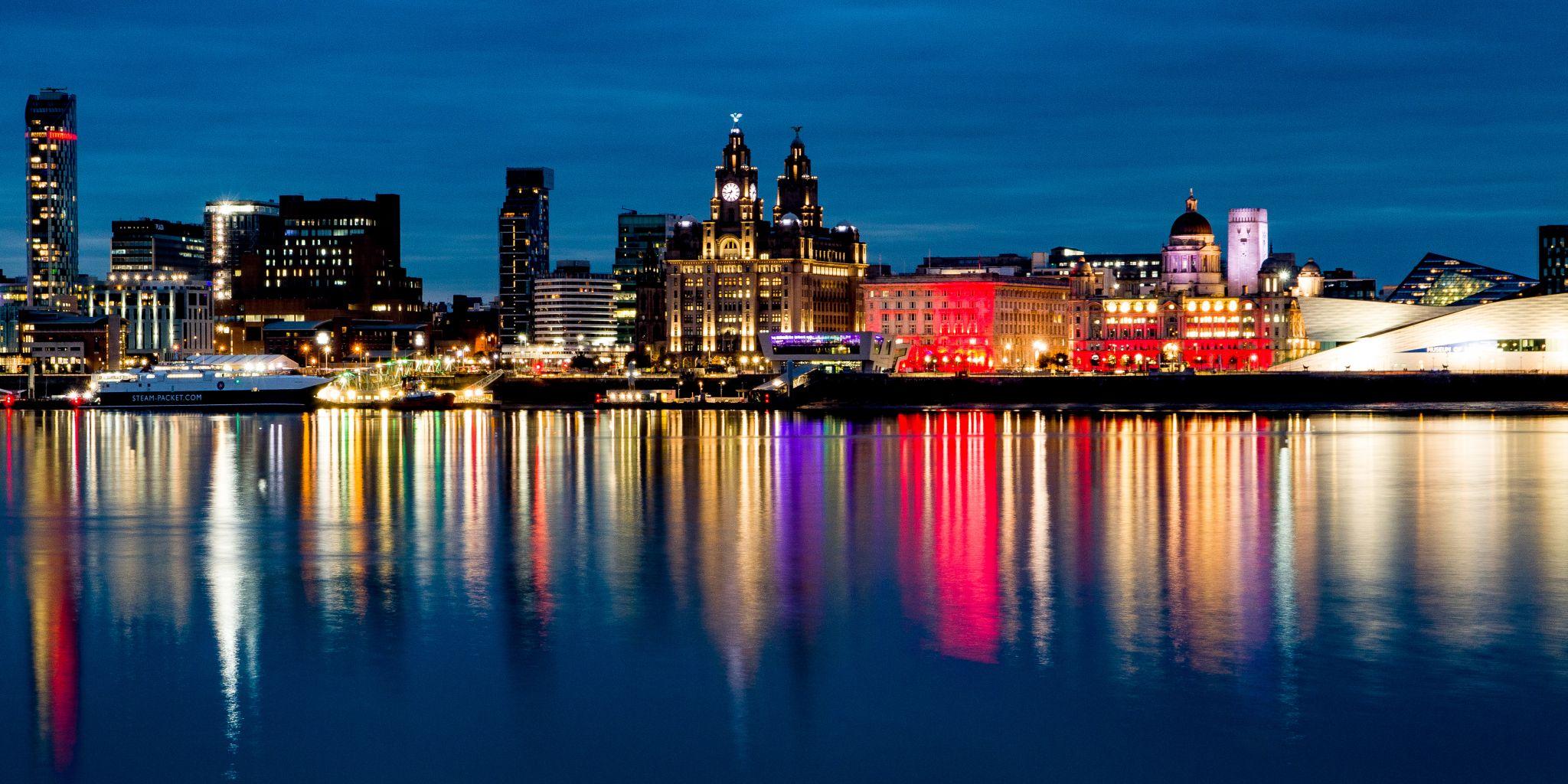 View of Liverpool, United Kingdom