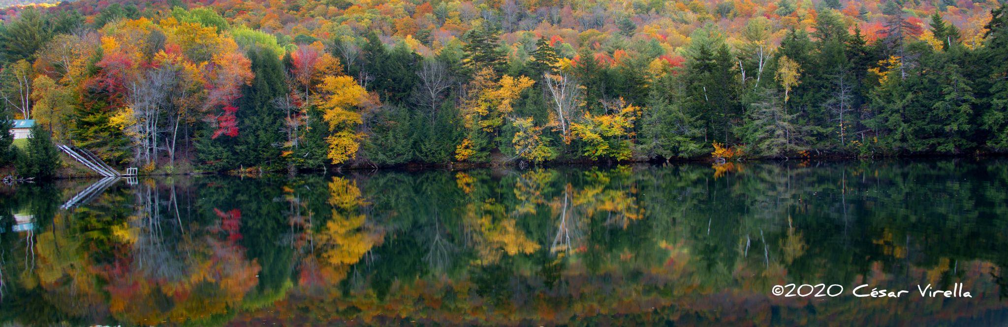 Woodward Reservoir near Plymouth Vt, USA