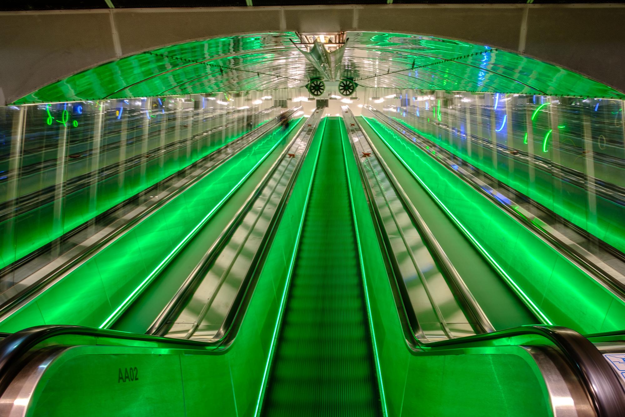 Yliopisto Metro Station, Finland