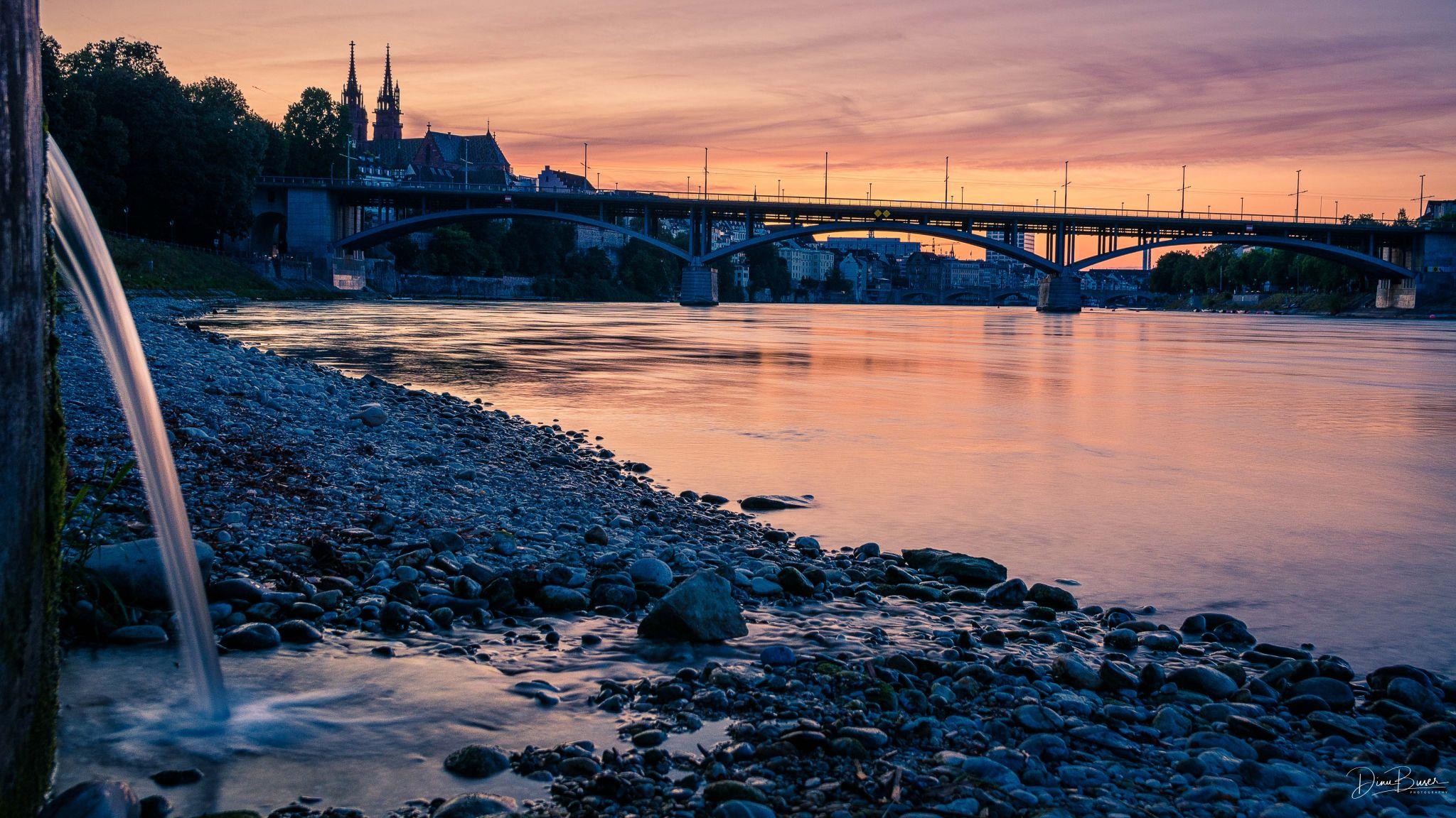 Basel, Rhein incl. Münster, Switzerland
