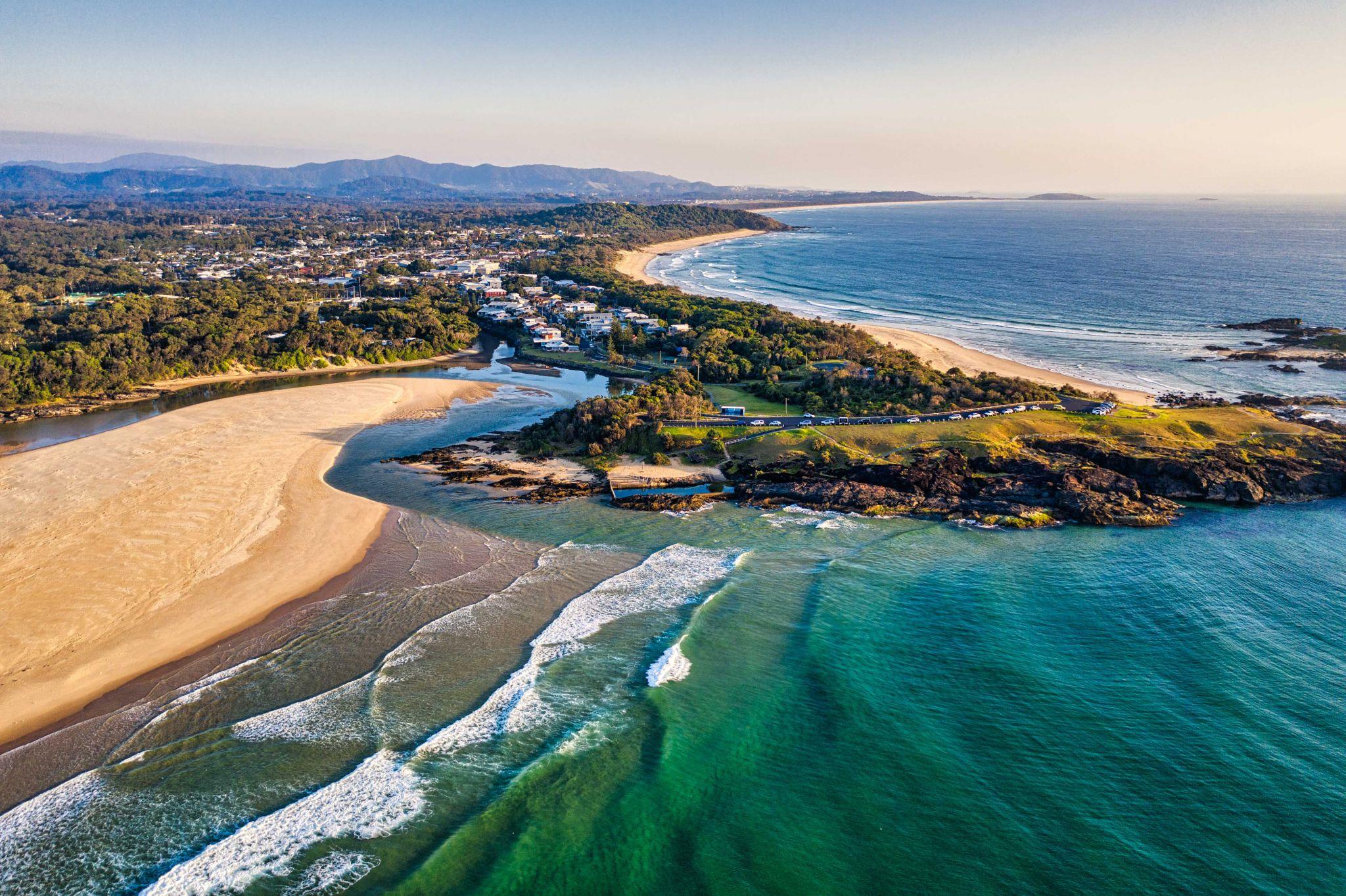Bonville Headland, North Coast New South Wales, Australia