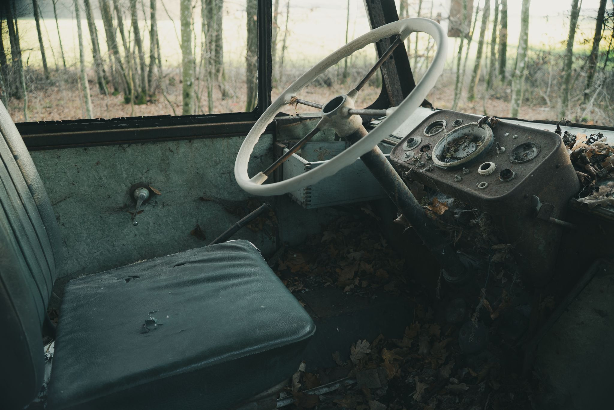Bus Wreck, Germany
