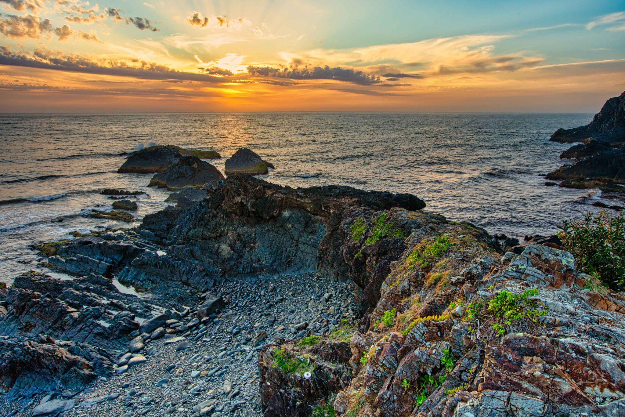 Crescent Head, sunrise, North Coast New South Wales, Australia