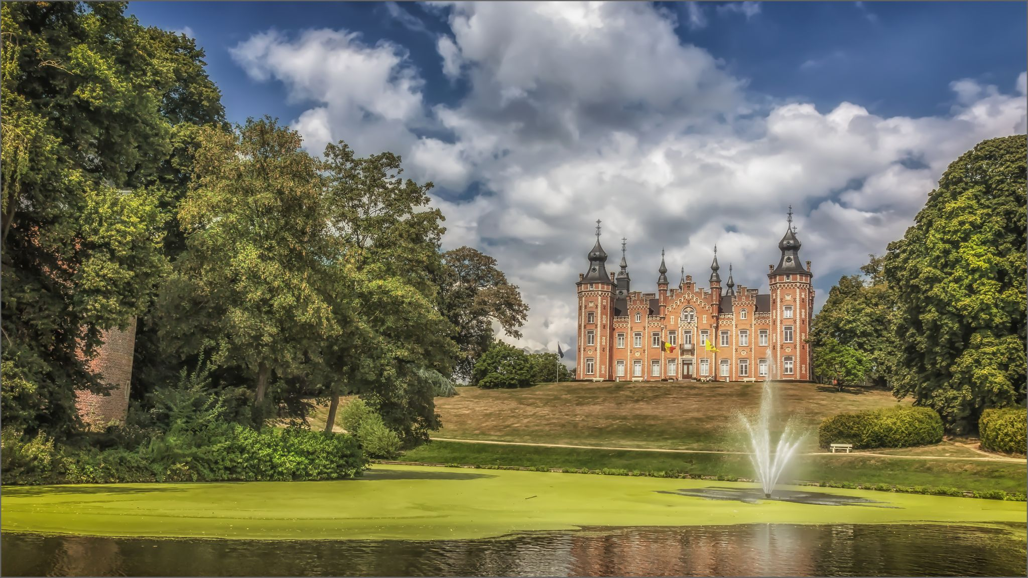 de Viron Castle, Belgium