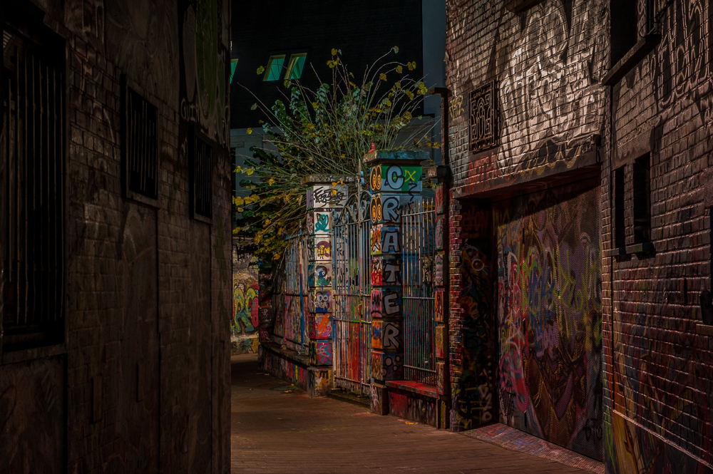 Graffitti alley, Belgium