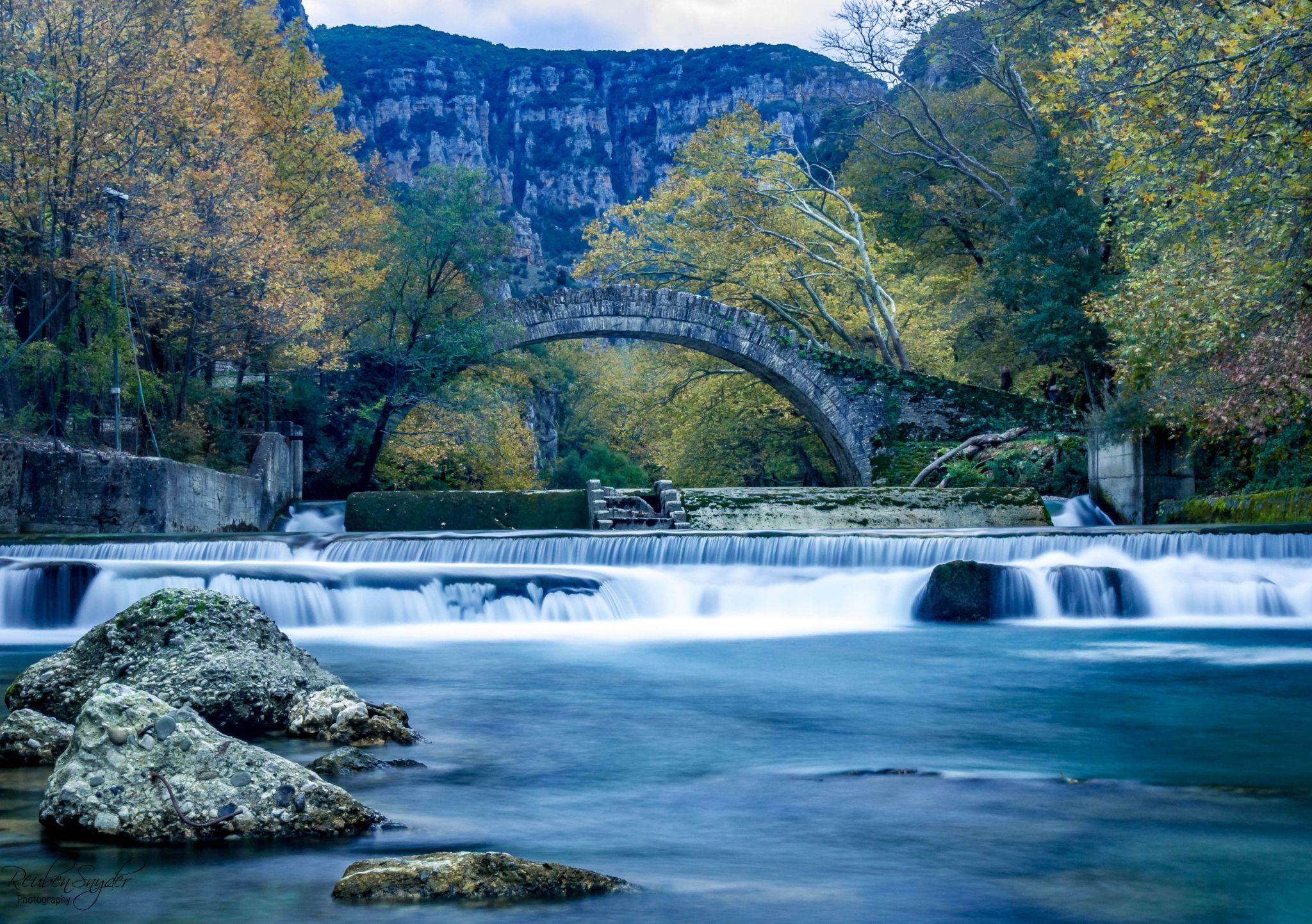 Kleidonia stone bridge, Greece