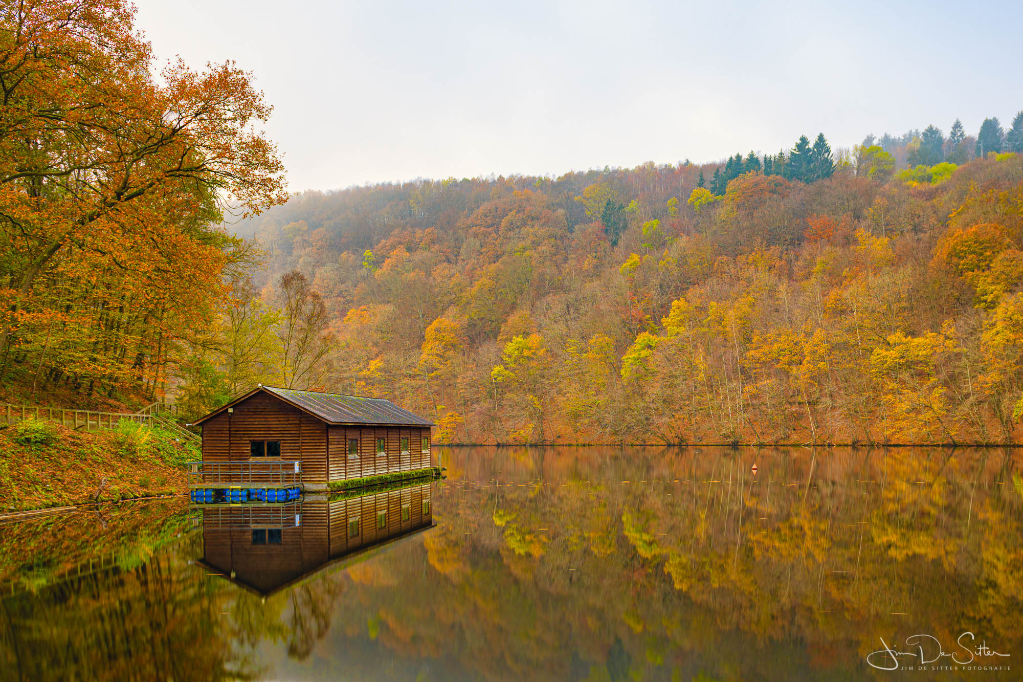 Lac de Nisramont, Belgium