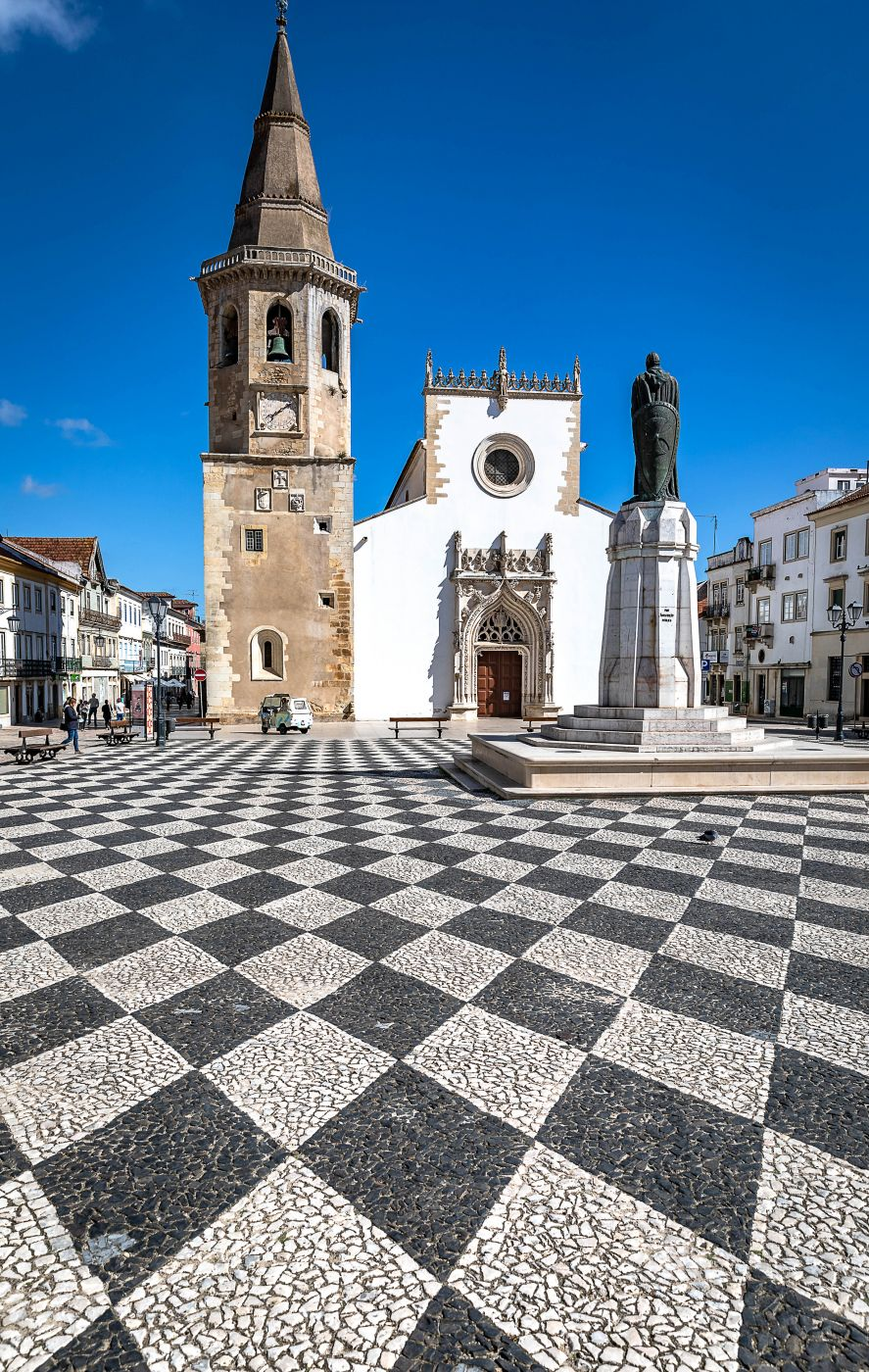 Tomar Praça da República, Portugal