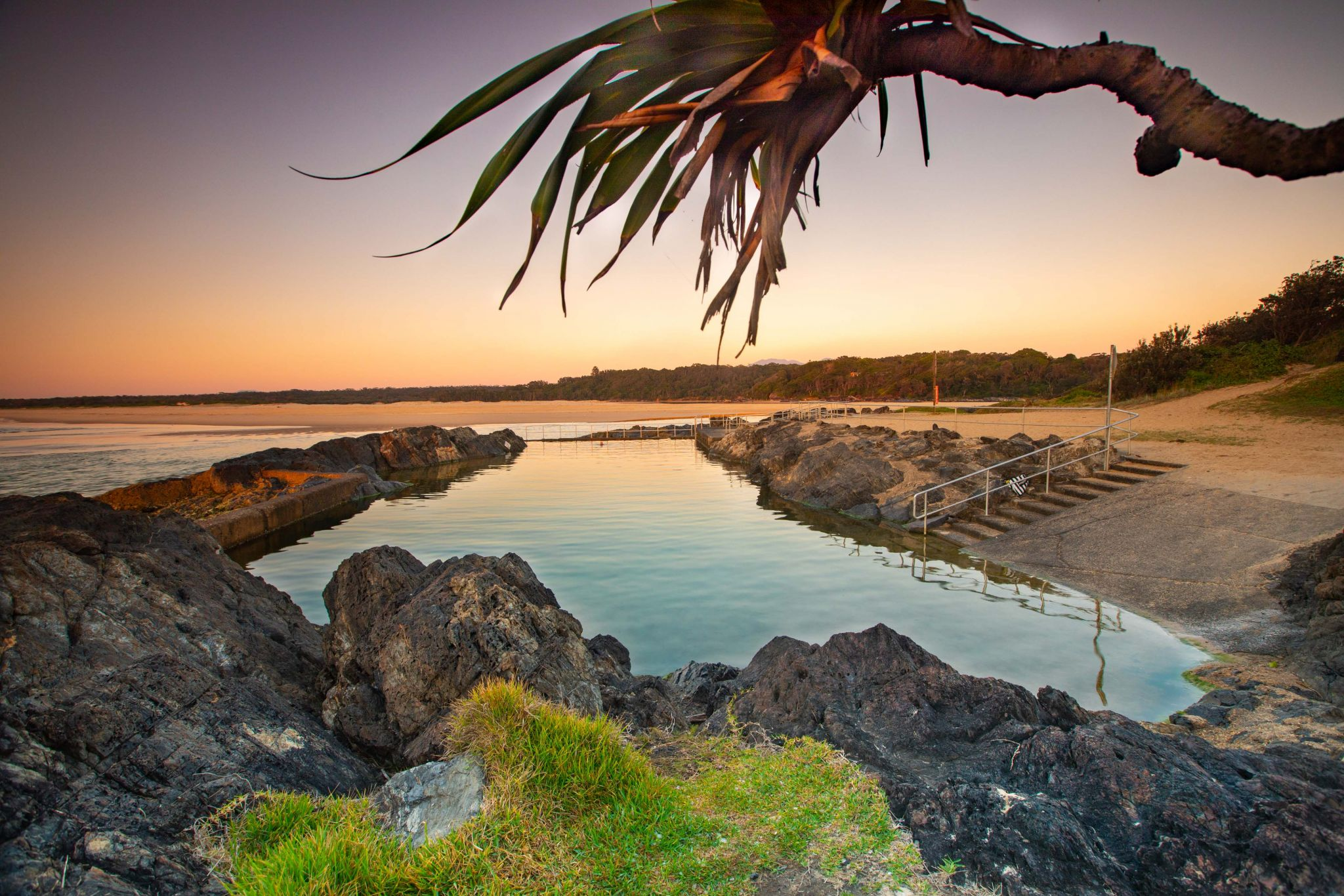Sawtell Memorial Pool, Sawtell, North Coast NSW, Australia
