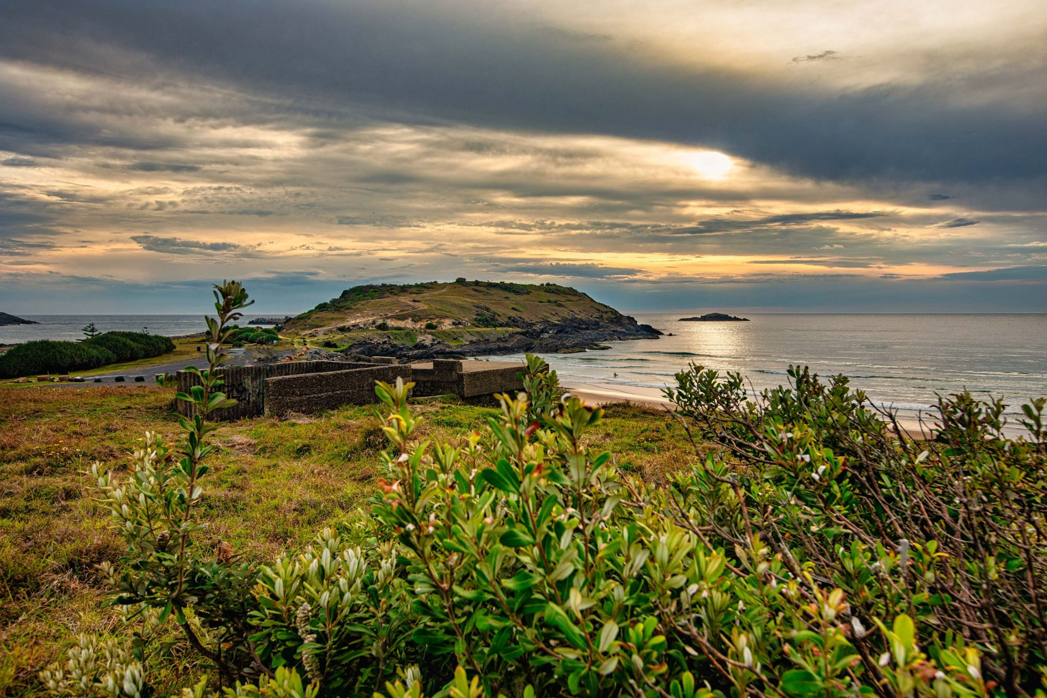 WWII Coastal Observation Bunker Coffs Harbour NSW, Australia
