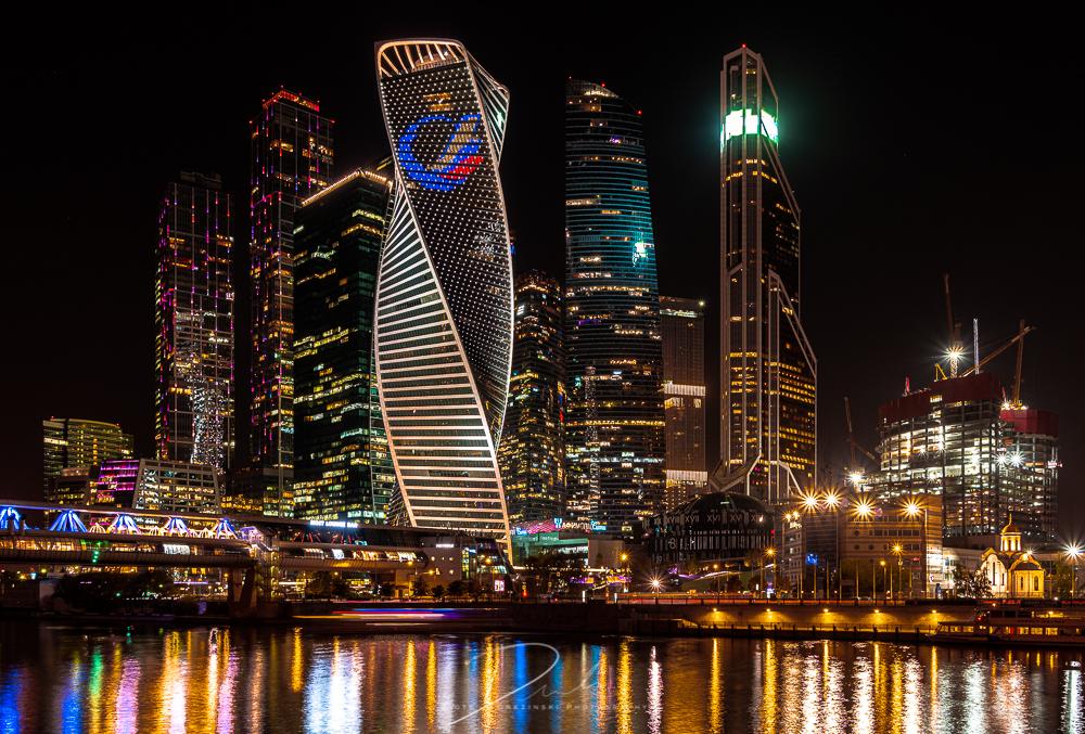 Bagration Bridge Moscow City, Russian Federation