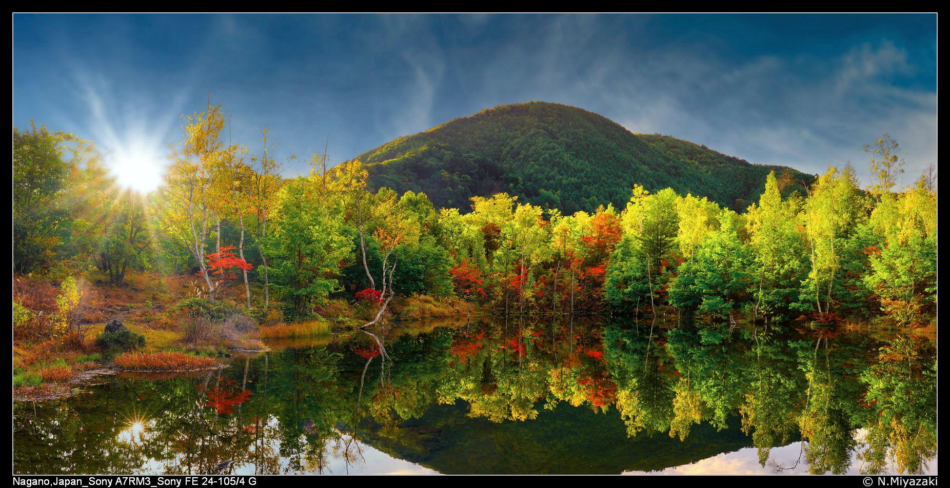 まいめの池, Maimenoike Pond, Japan
