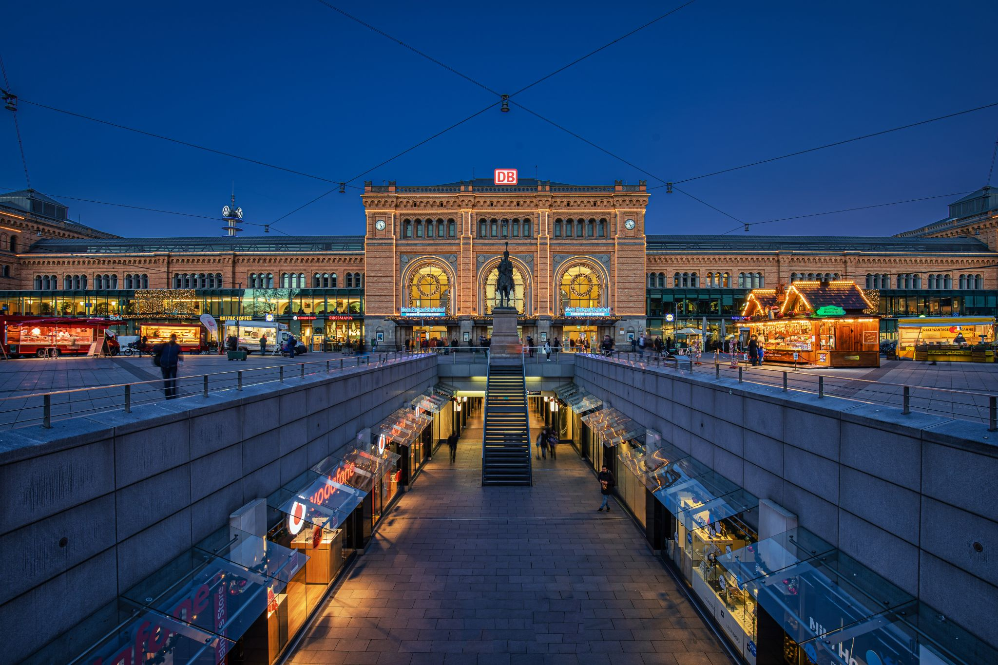 Hauptbahnhof Hannover, Germany