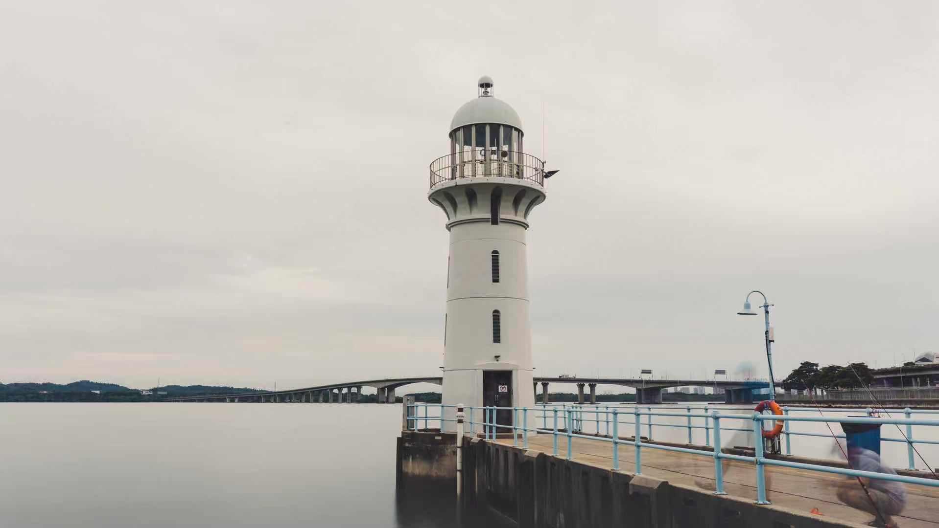 RaffleS Marina Lighthouse, Singapore