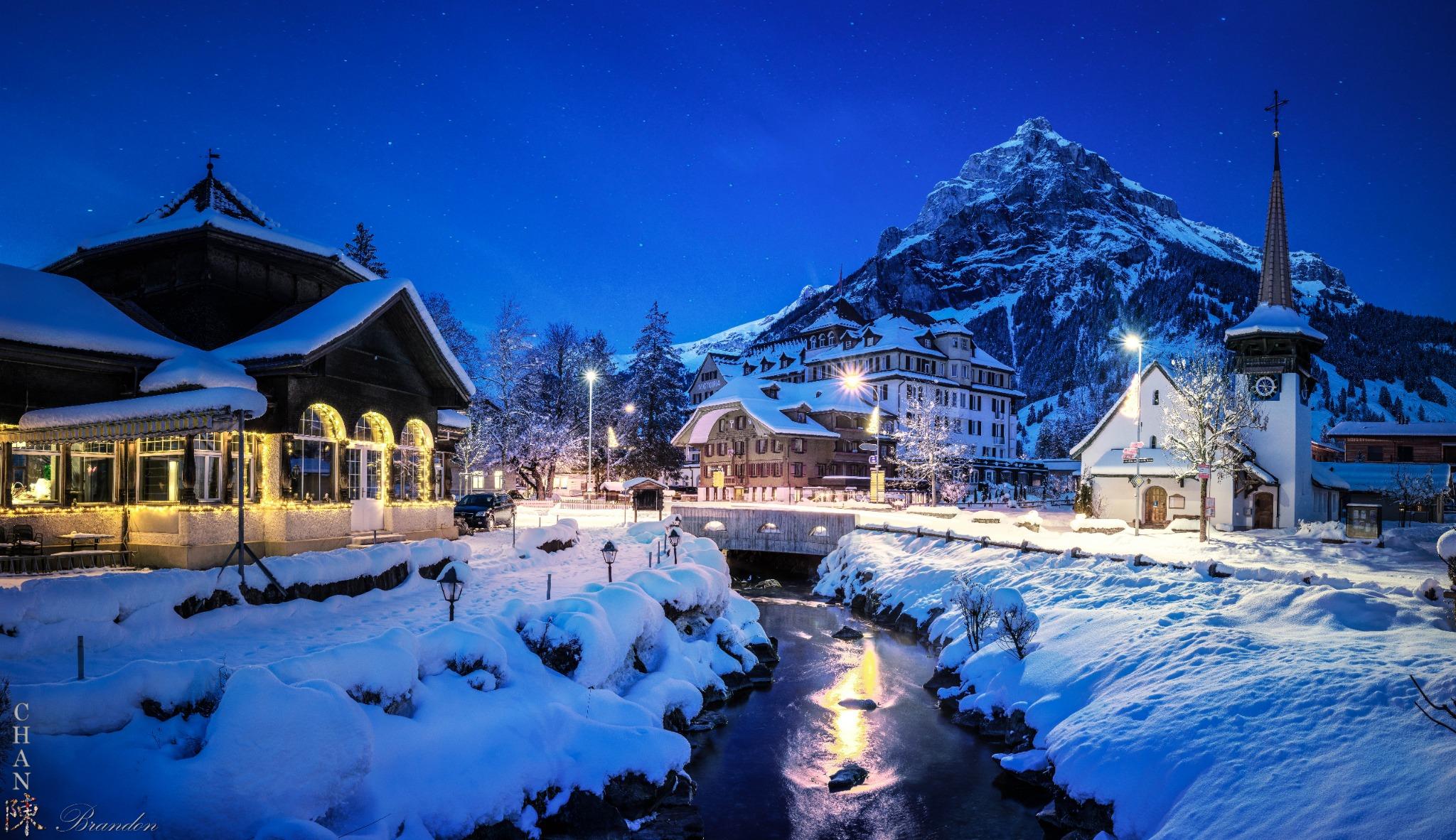 Kandersteg Winter Switzerland, Switzerland