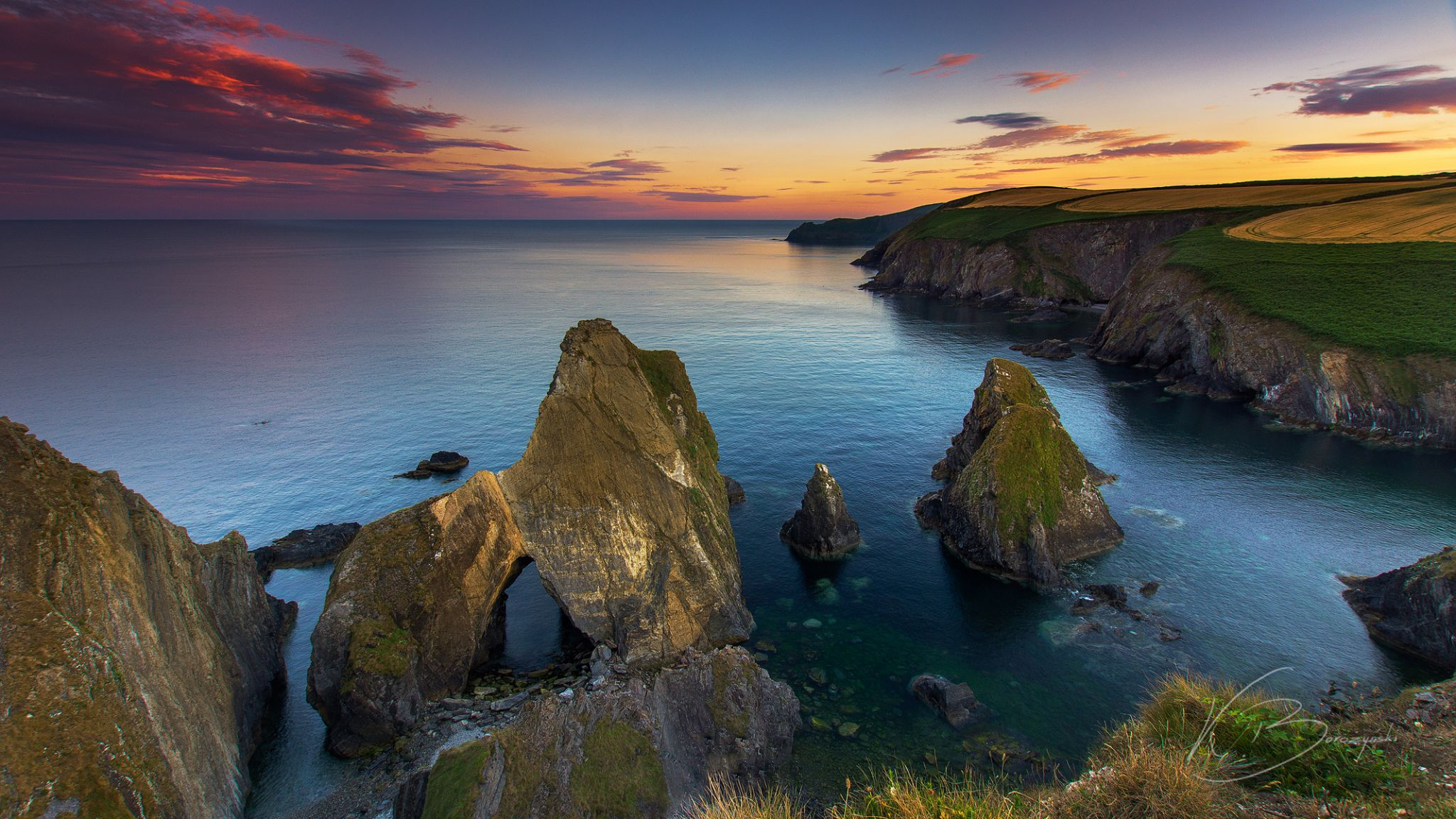 Nohoval Cove, Ireland