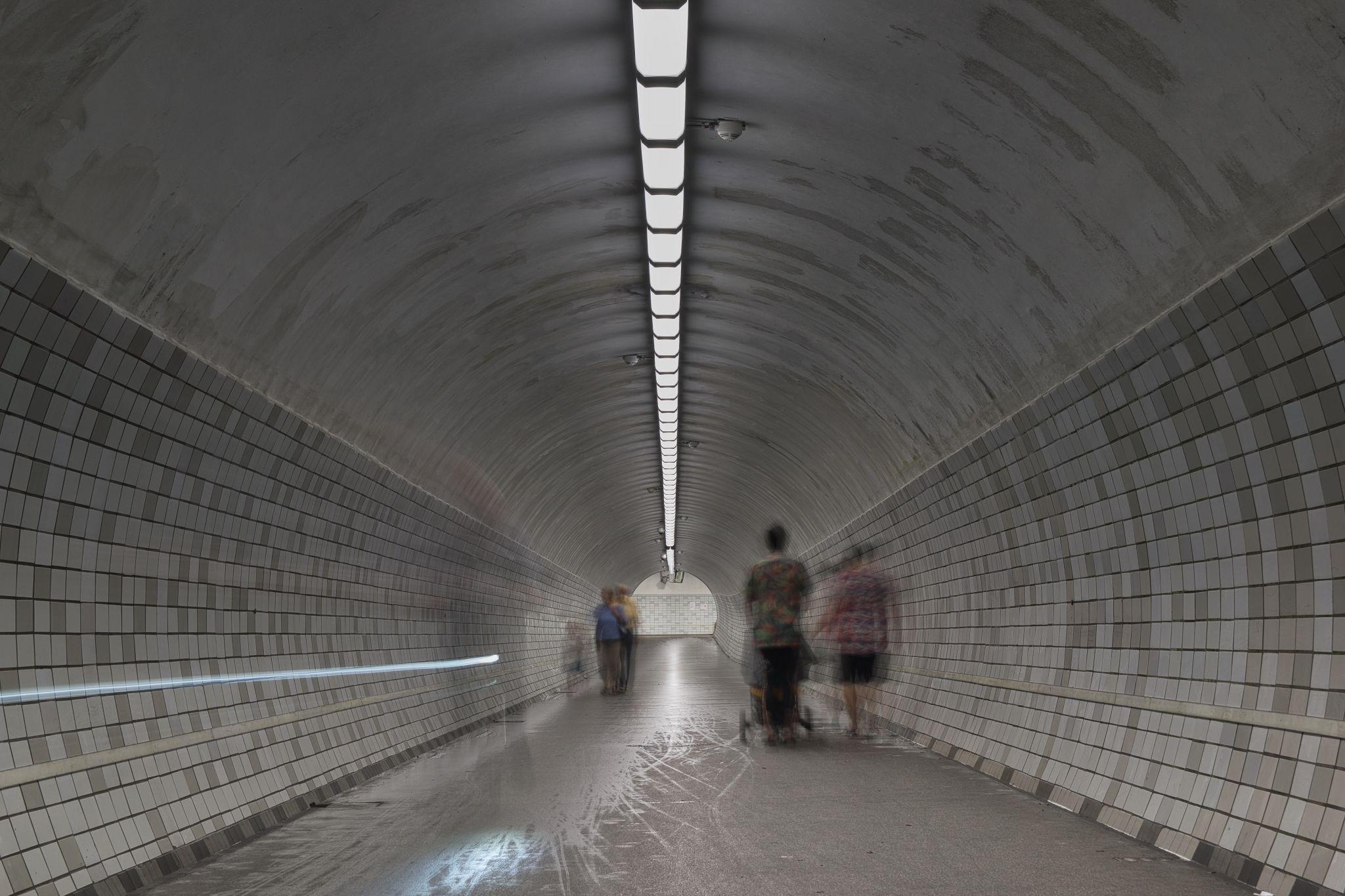 Rendsburg Pedestrian Tunnel, Germany