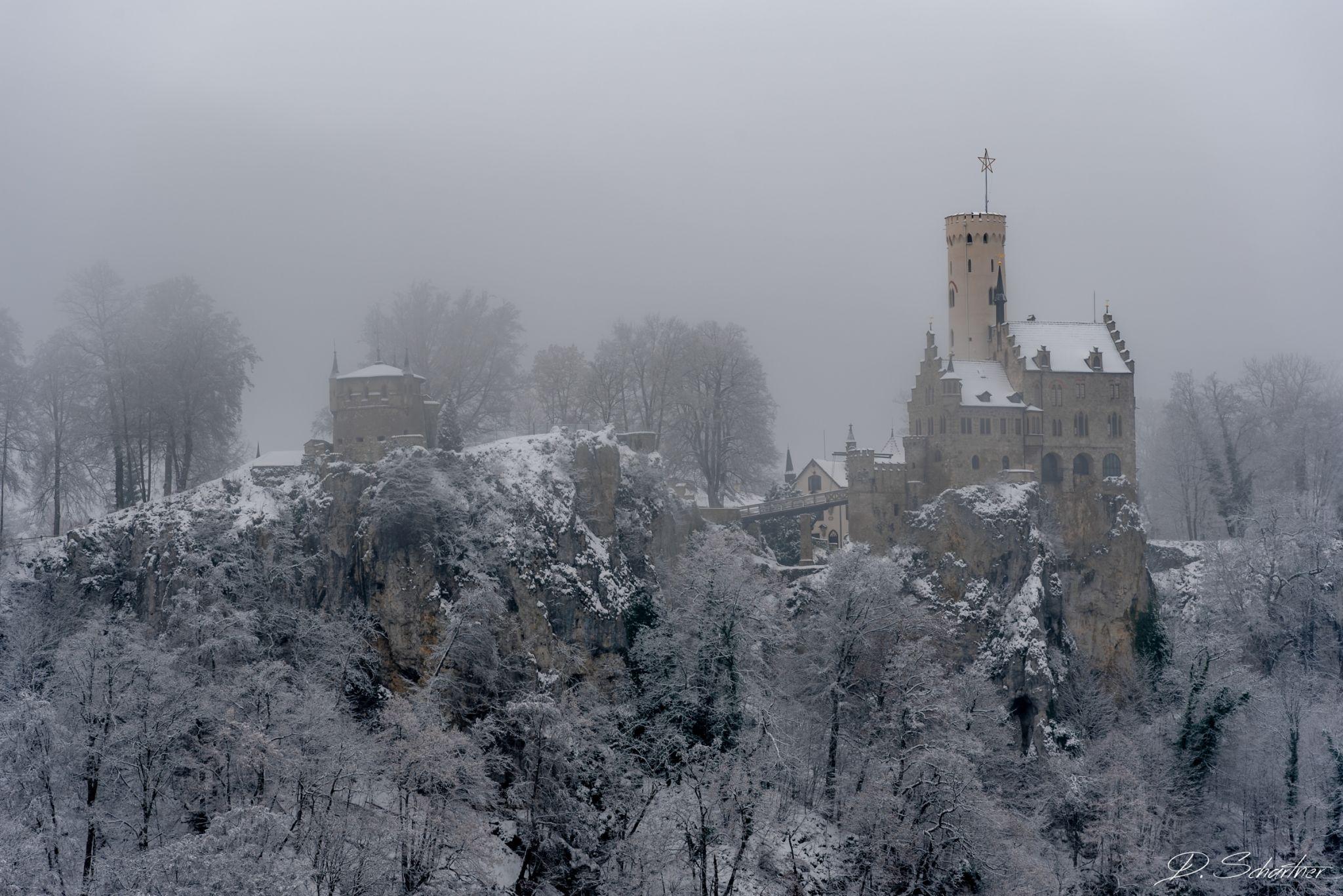 View on Burg Alt-Lichtenstein, Germany