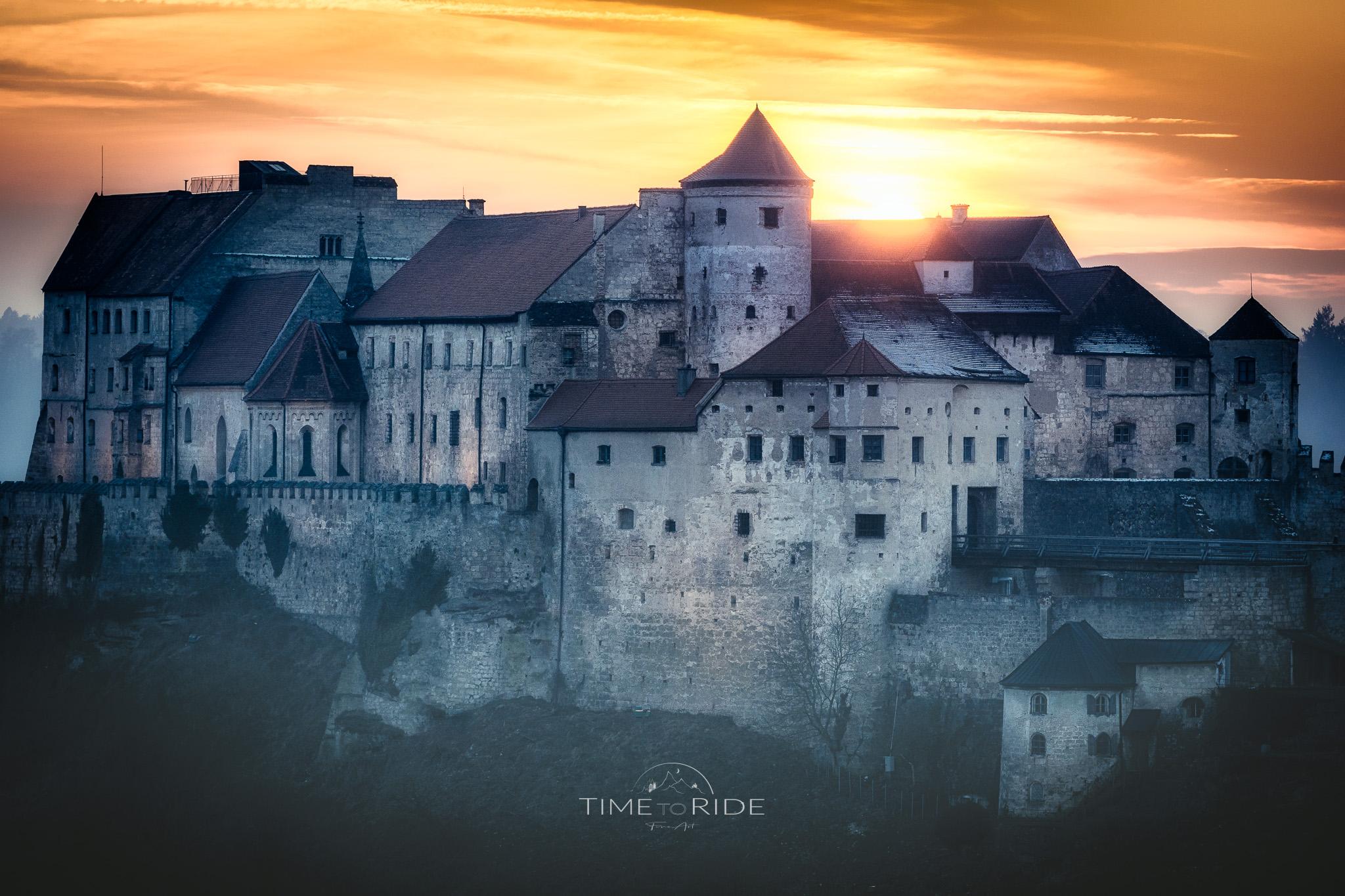 Altstadt & Burg von Burghausen (worlds longest castle), Austria