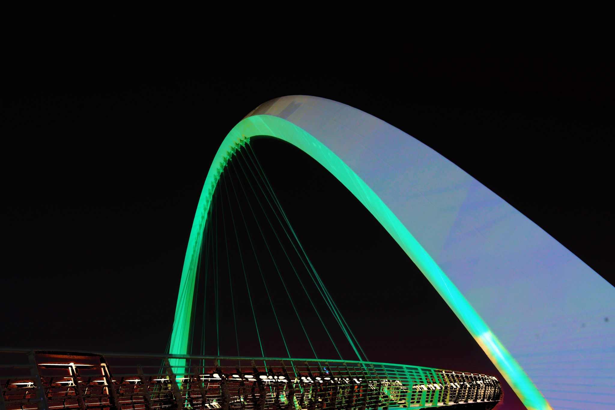 Dubai Tolerance Bridge, United Arab Emirates