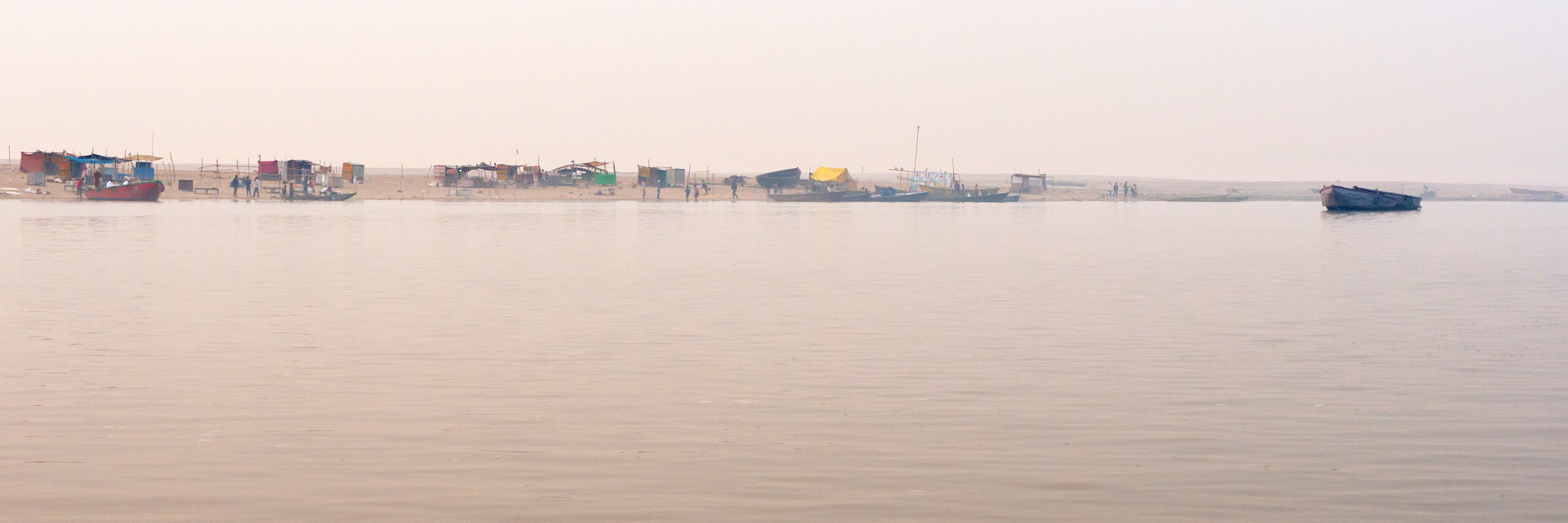 East Side of Ganges, Varanasi, India