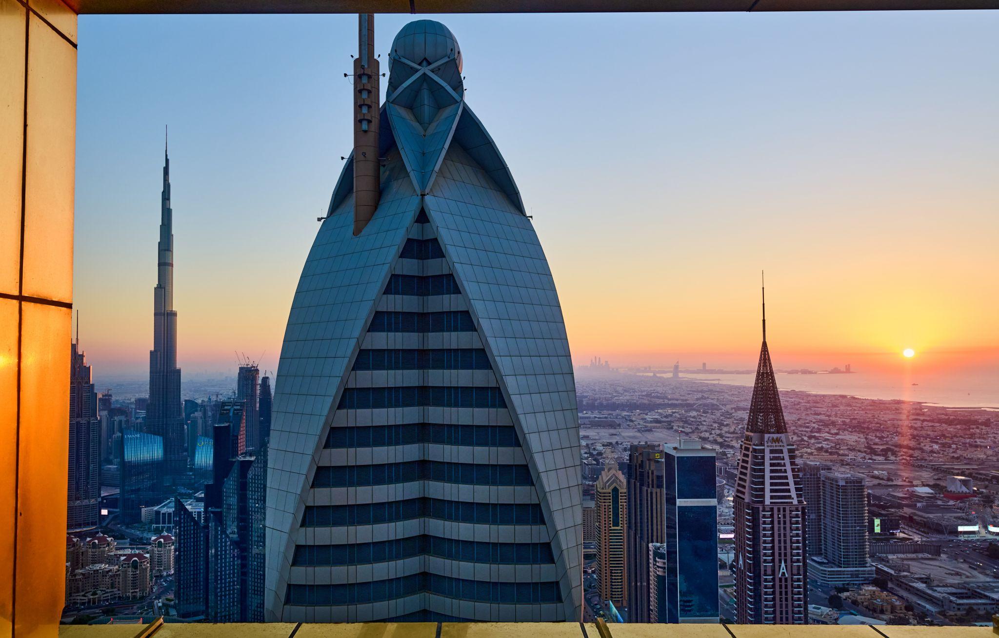 Highest View Lounge (at Gevora Hotel), United Arab Emirates