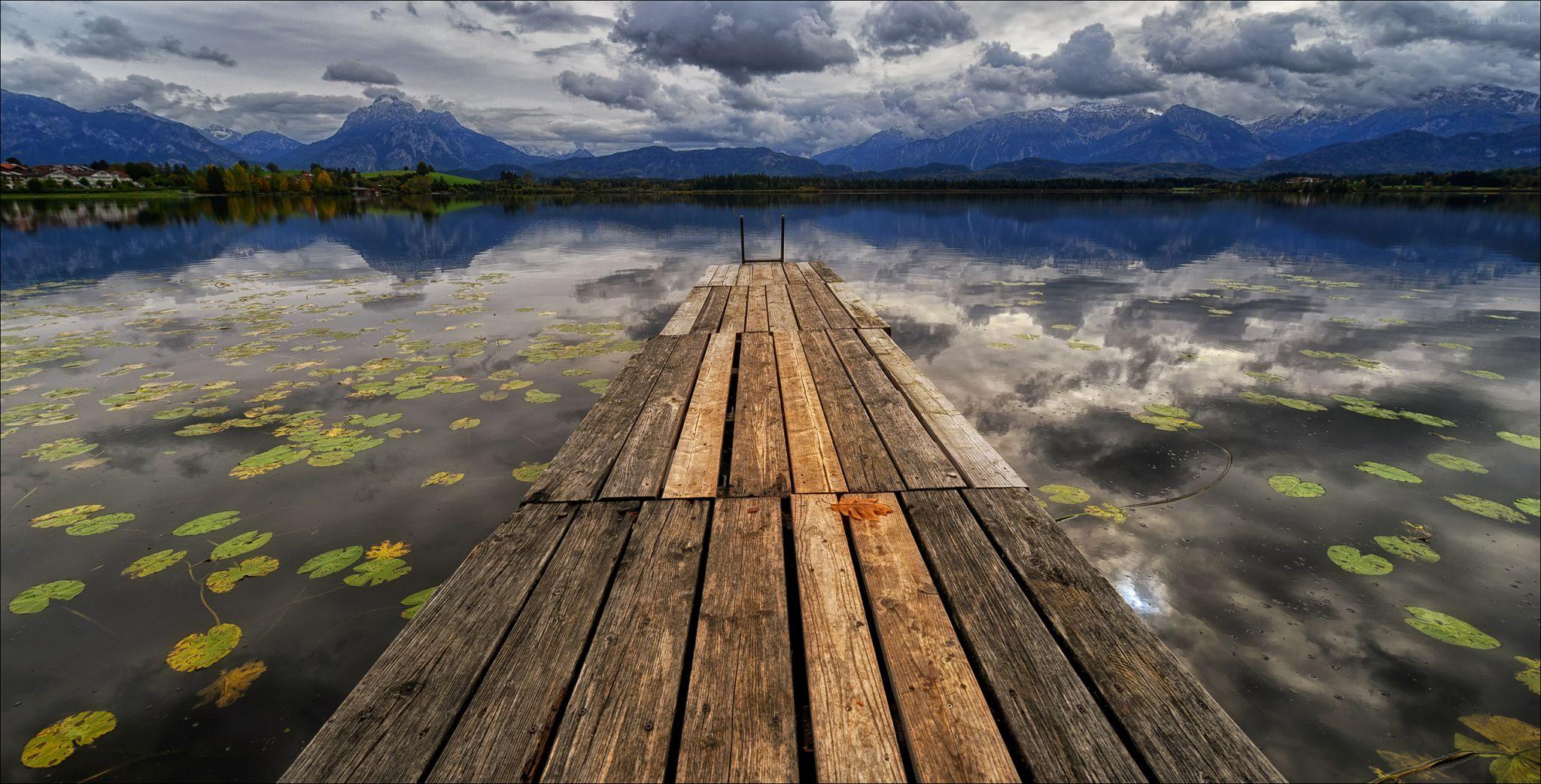 Hopfensee, Lake Hopfen, Germany