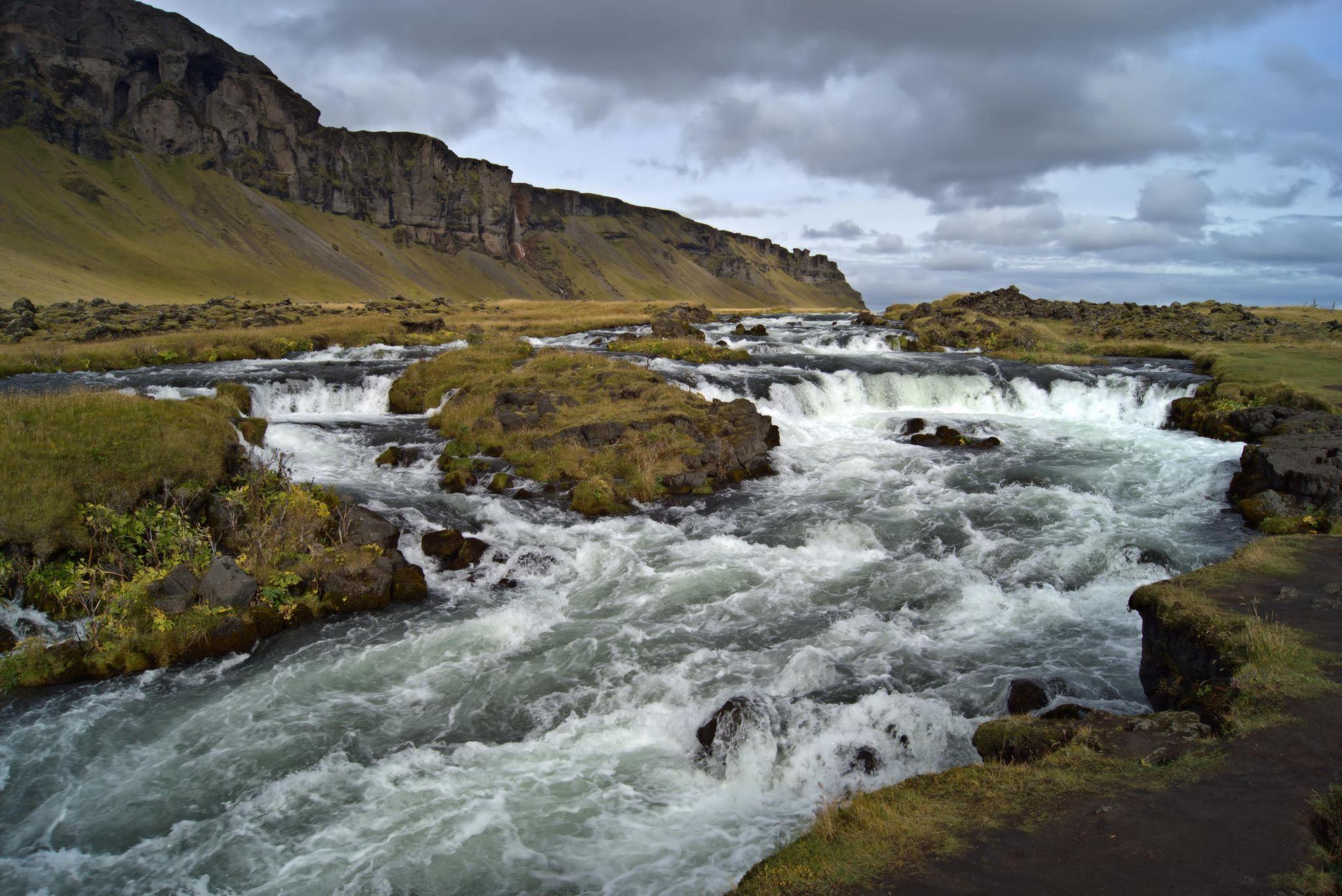Iceland Countryside Stream (UNK exact location), Iceland
