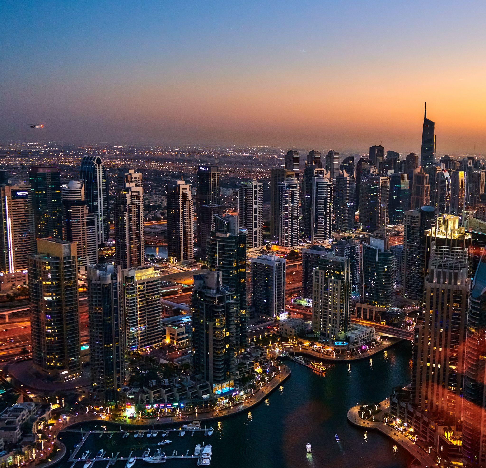 Observatory Bar & Grill (at Dubai Marriott Harbour), United Arab Emirates