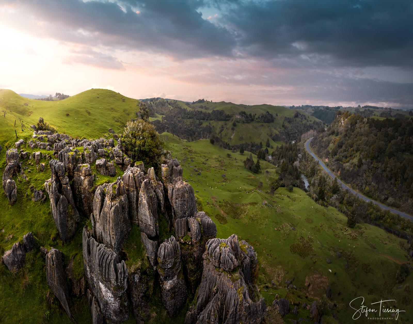 Rocks at Mangaotaki River, New Zealand