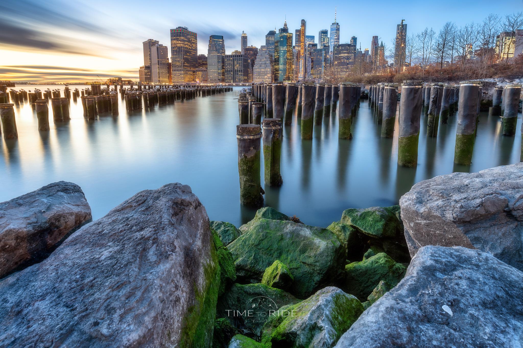Skyline of Manhattan - New York City (USA), USA