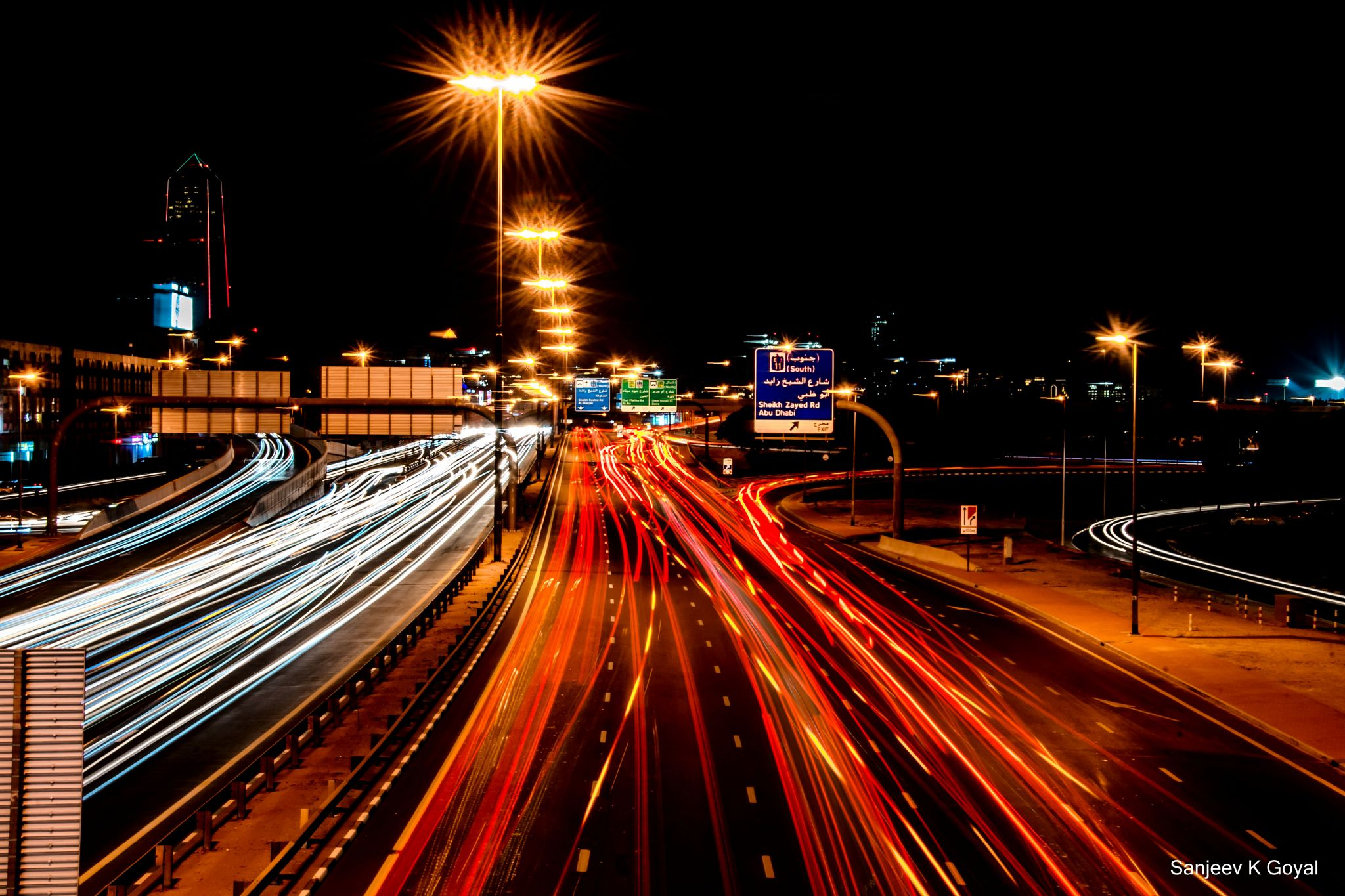 walk bridge near Dubai frame, United Arab Emirates