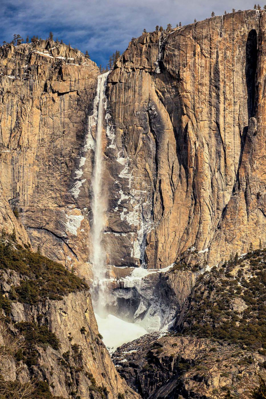 Yosemite Fall view, USA
