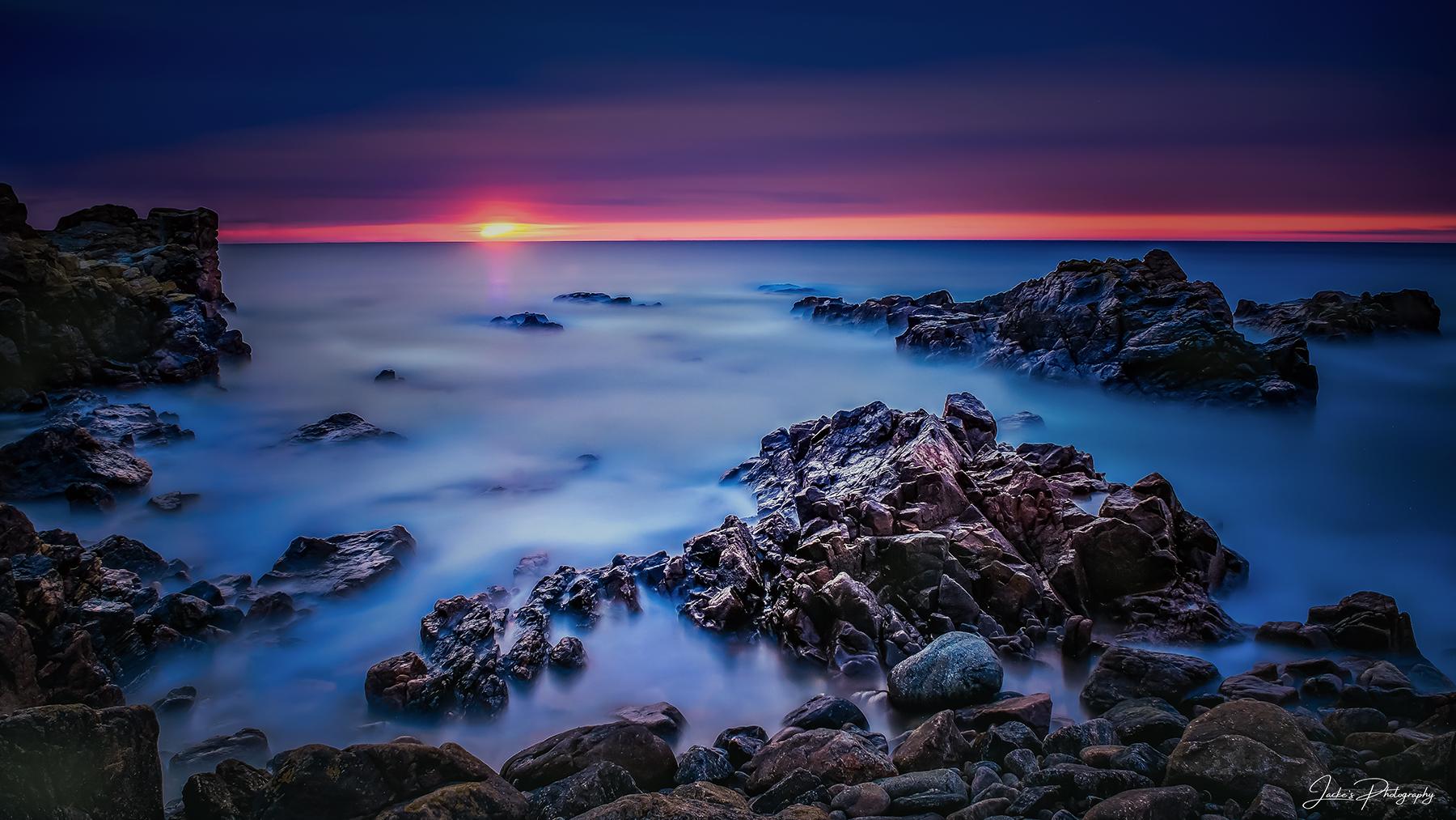 Greyhope Beach Aberdeen, United Kingdom