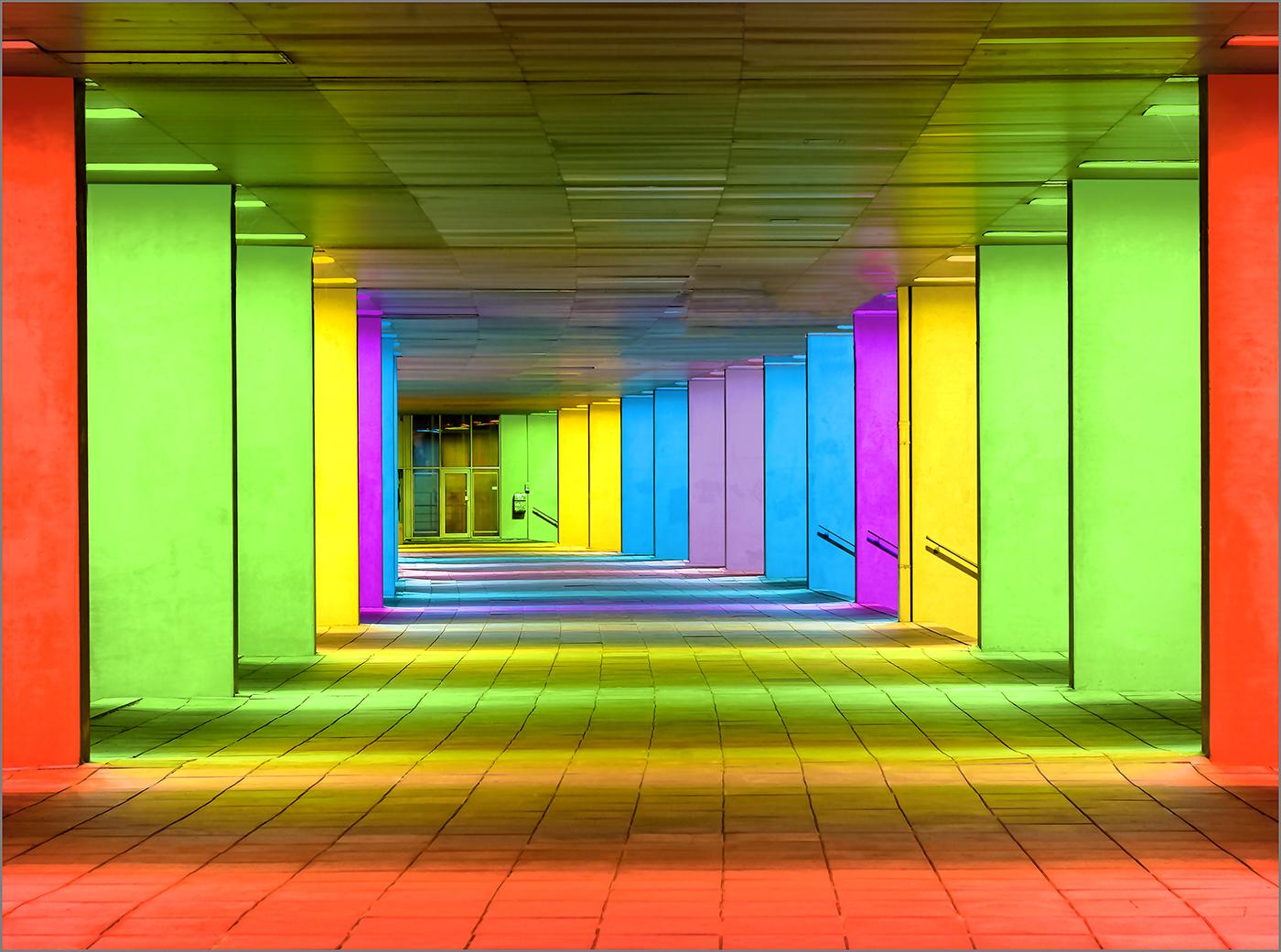 Illuminated Arcades, Netherlands